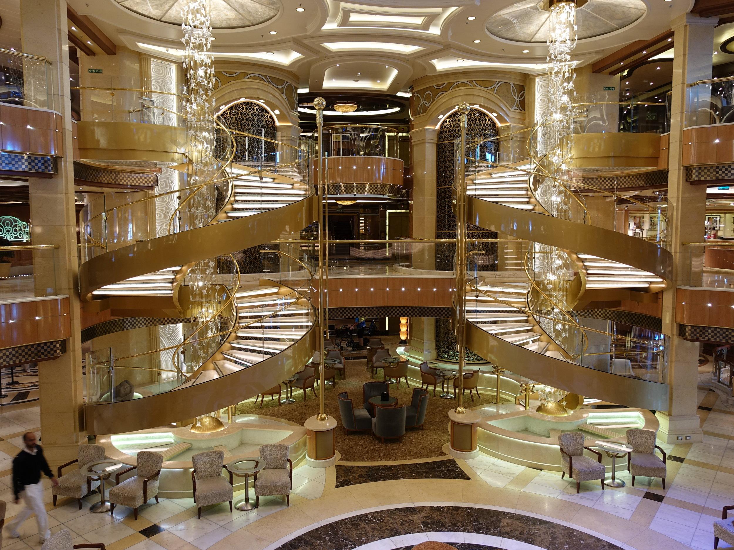 The very 'Royal' atrium.