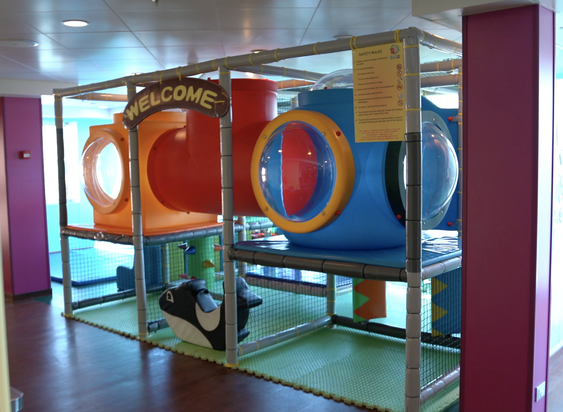 Amazing kids clubs areas