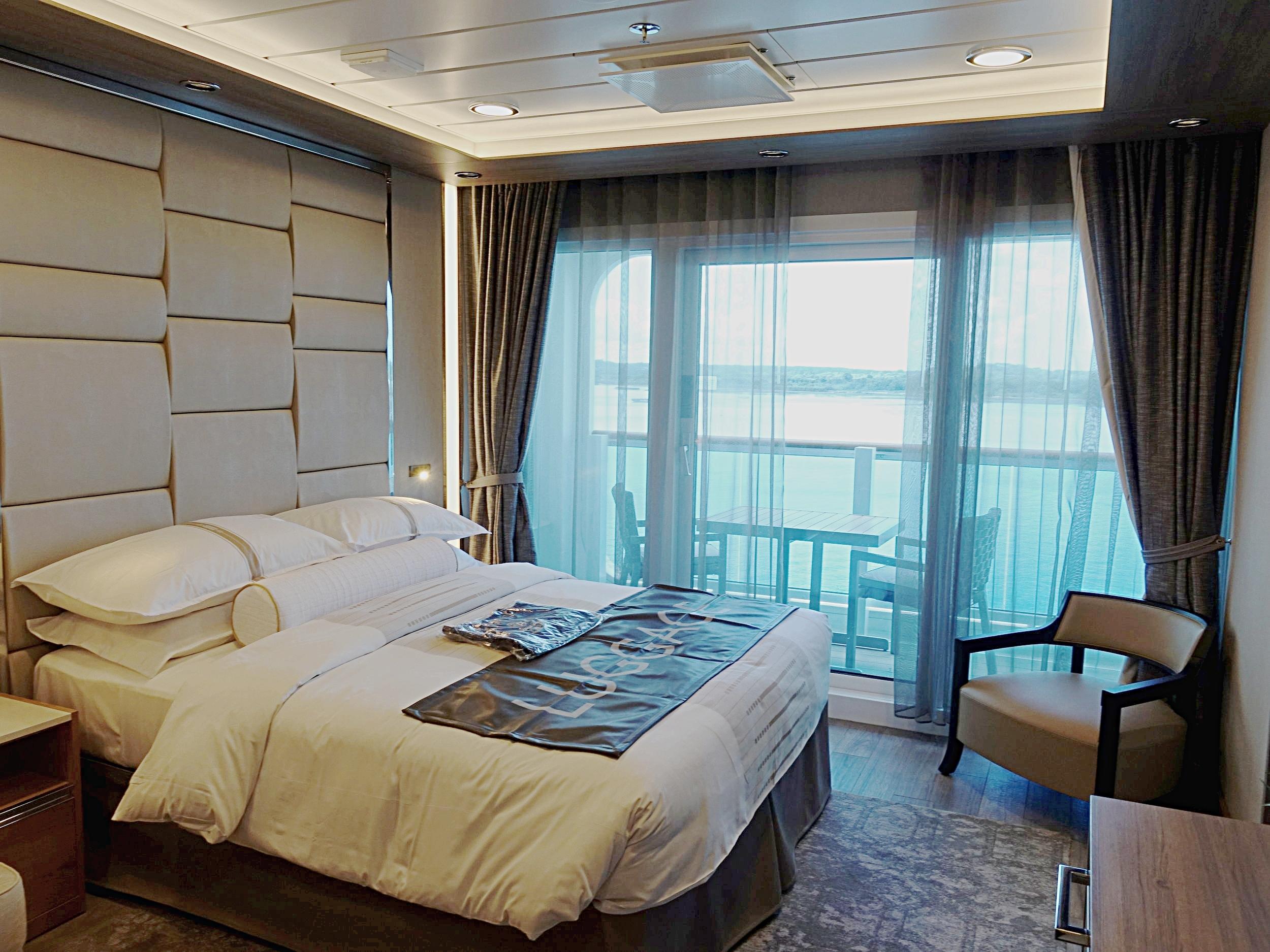 The impressive Spa Suite.