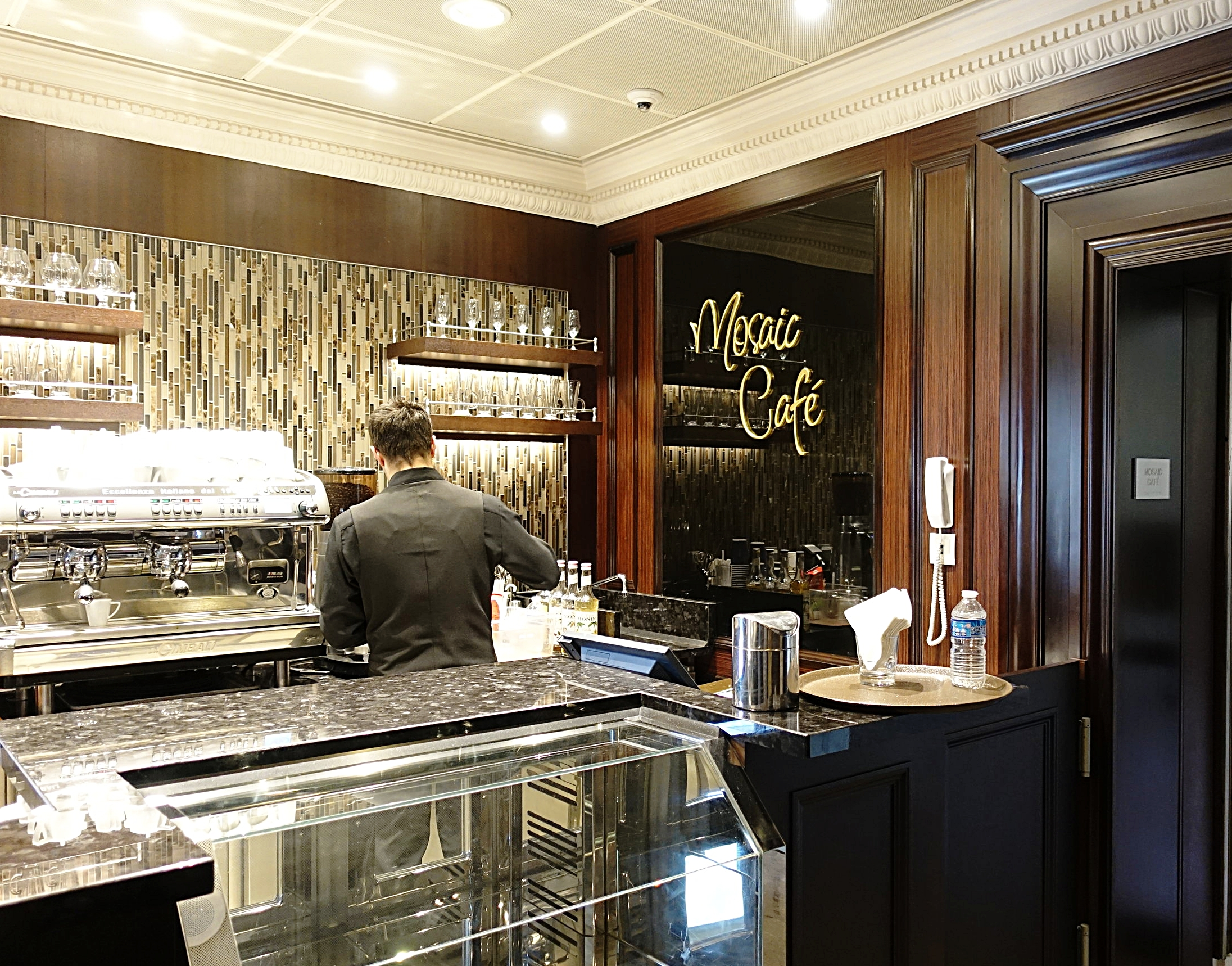 The Mosaic cafe serving hot and cold refreshments and light snacks