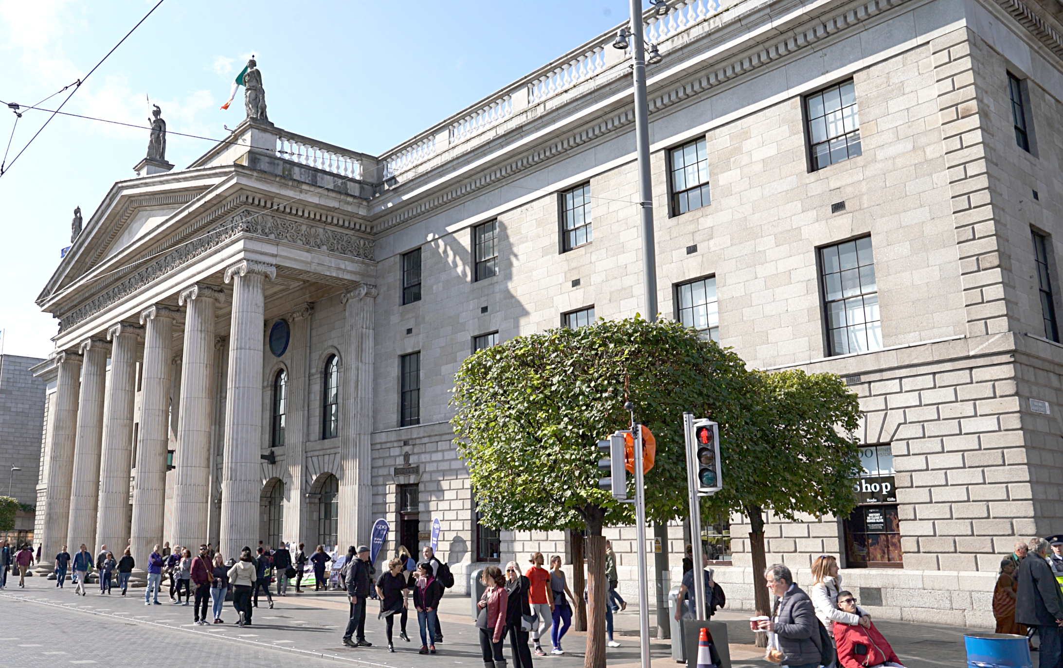The General Post Office, focal point of the 1916 Easter Rising.