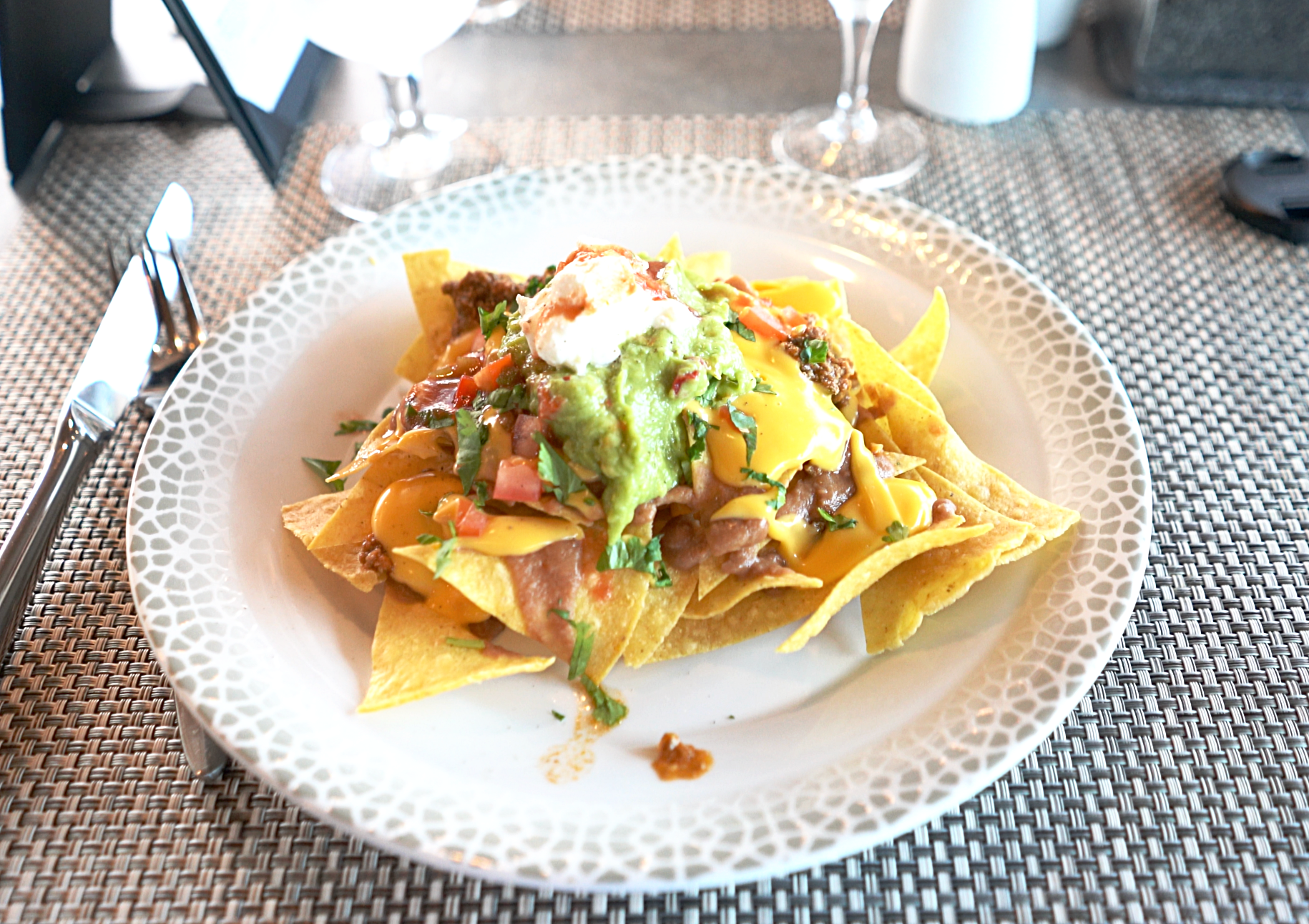 The irrisistable plate of Nachos