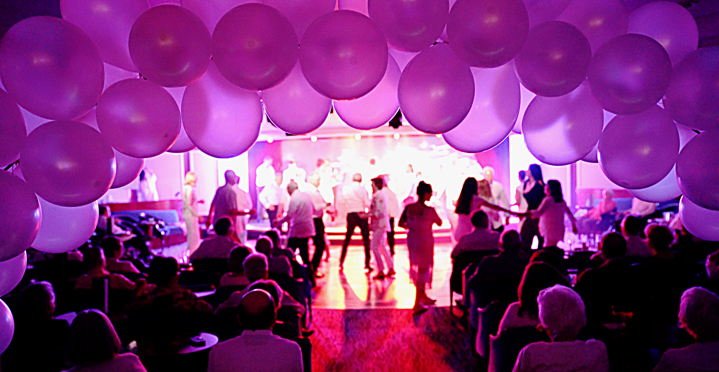 White Night Party in the Cabaret Lounge.