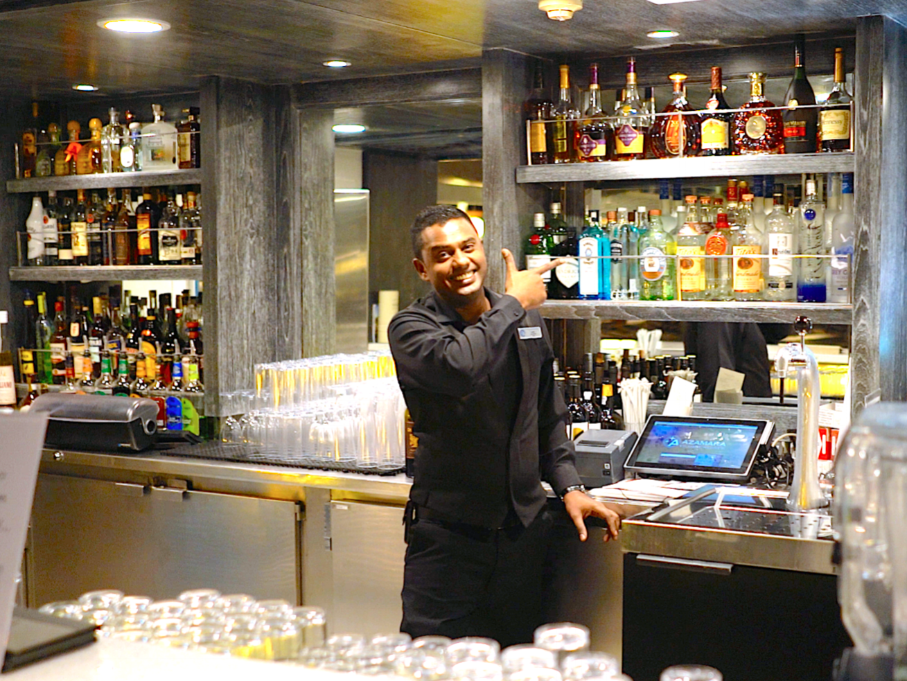 The crew on the Azamara Pursuit were some of the best we have come across on any ship we have ever travelled on.