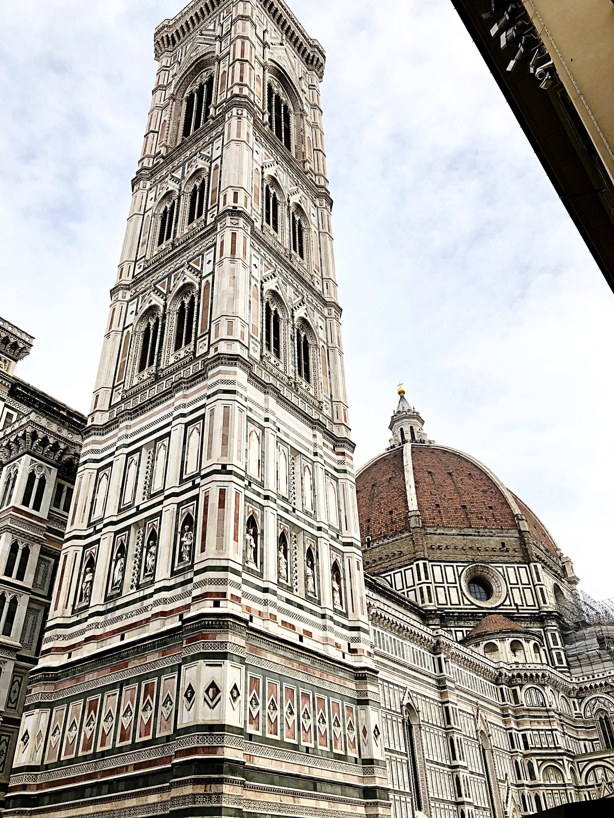 The Bell Tower at the Cathedral di Santa Maria del Fiore.