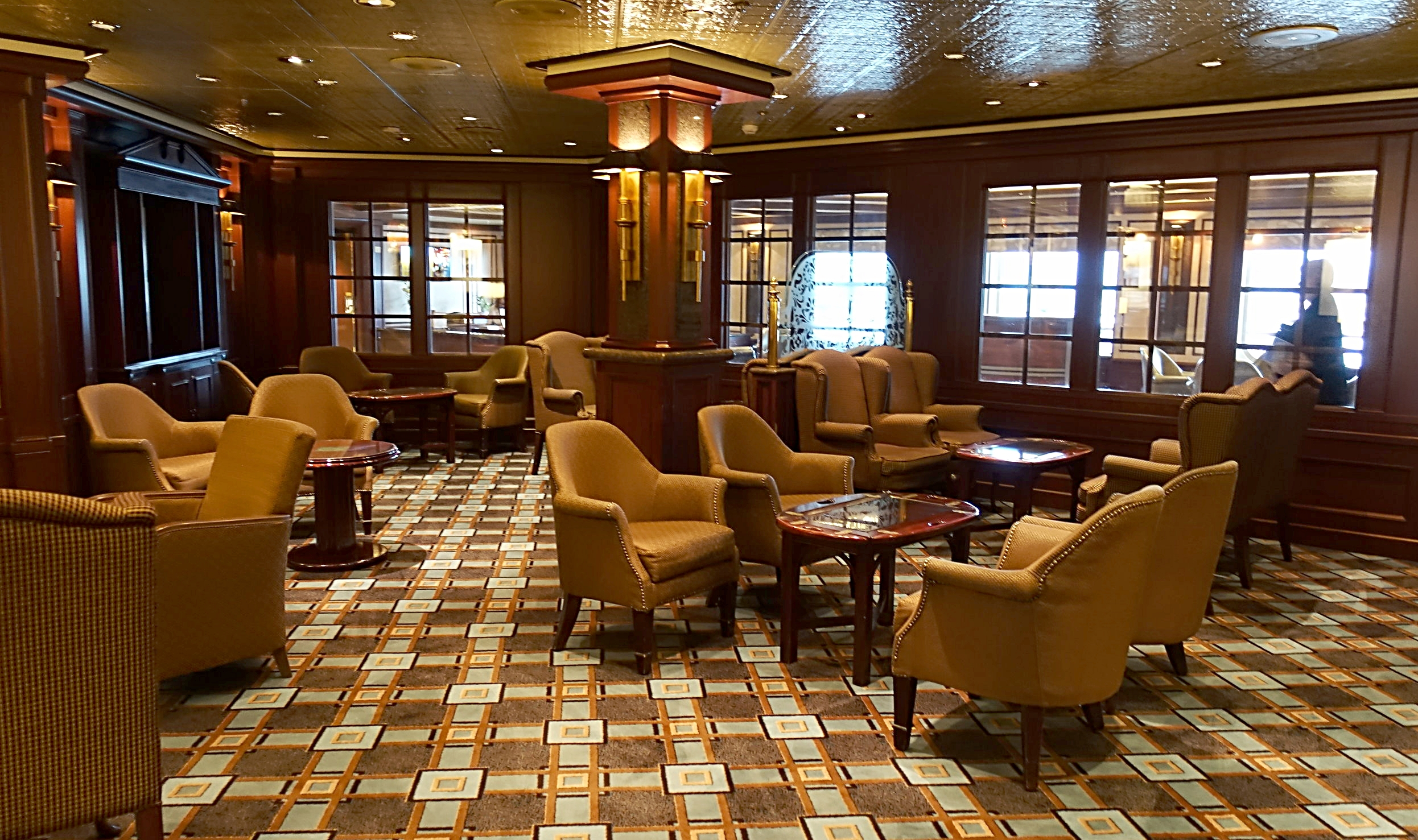 The Wheelhouse bar, perfect for enjoying a pint.