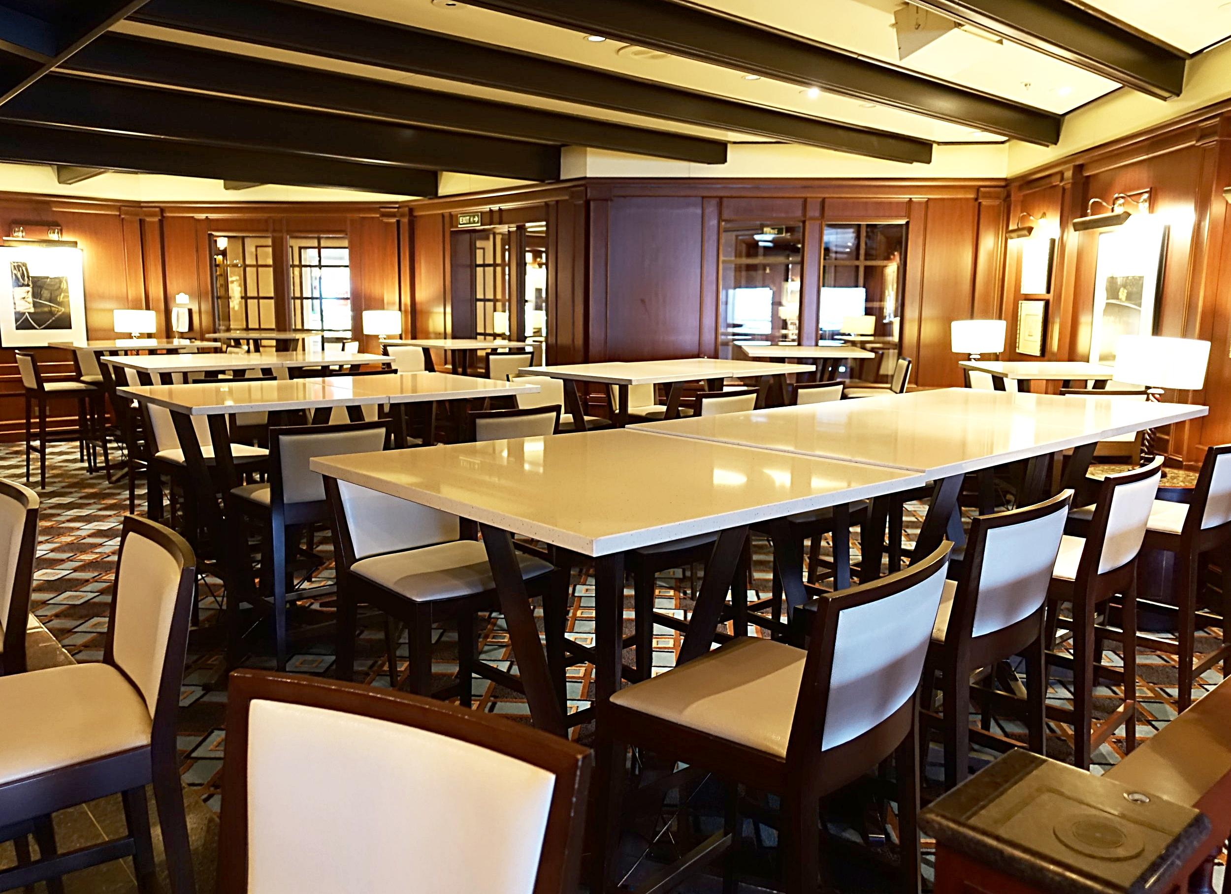 The Salty Dog dining section of the Wheelhouse bar.