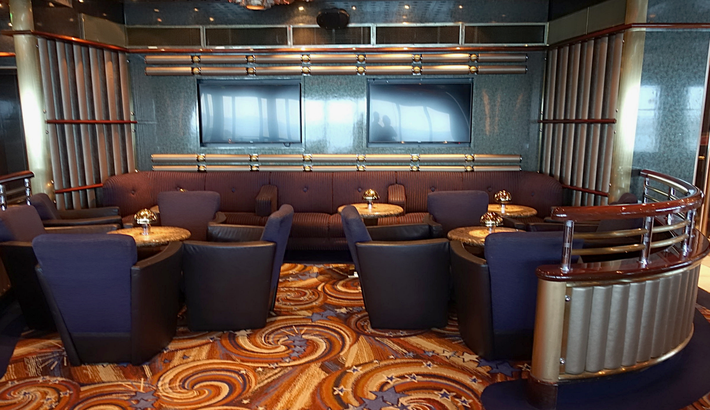 One of the Skywalkers seating areas.