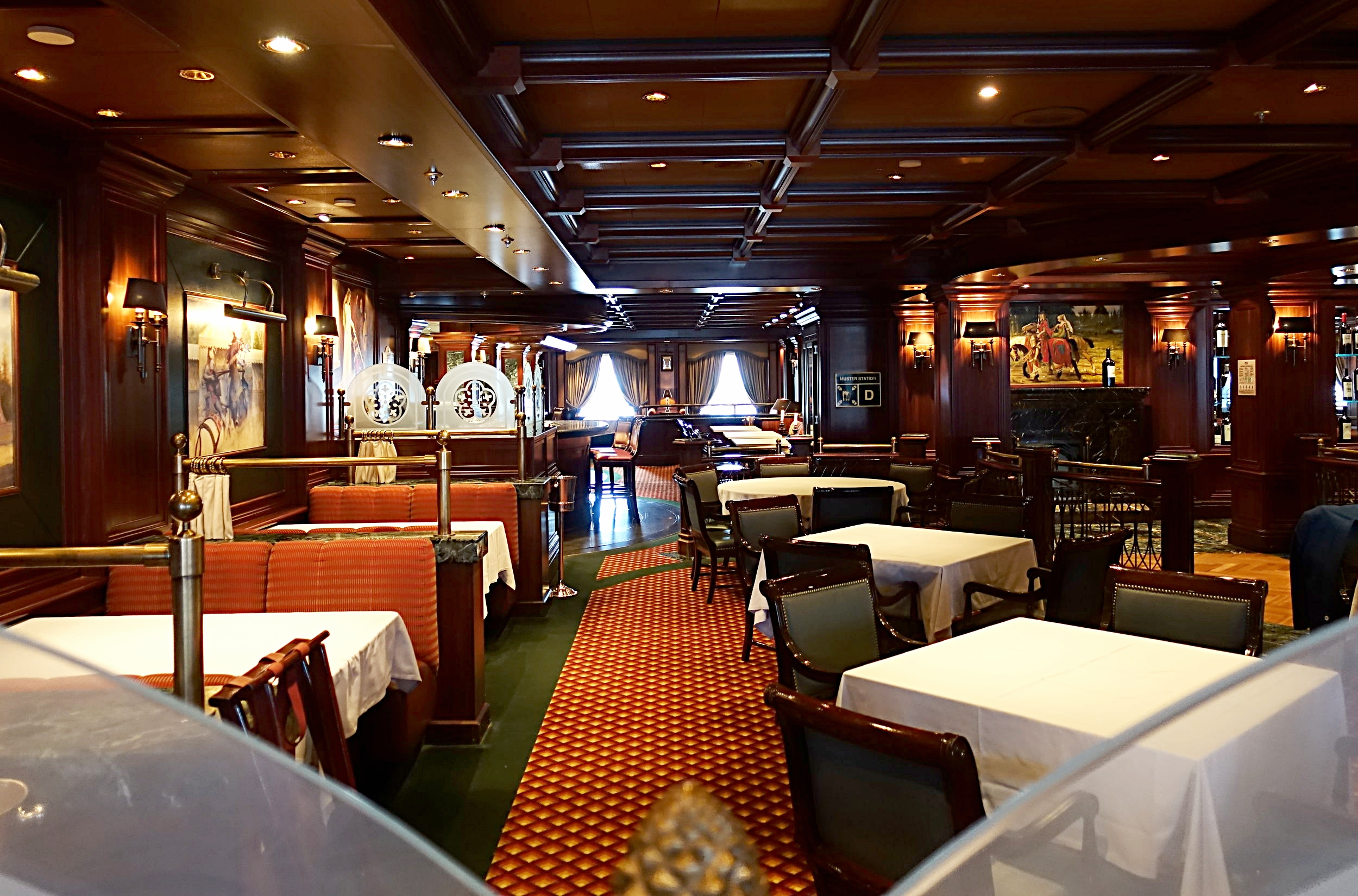 The Crown Grill restaurant.