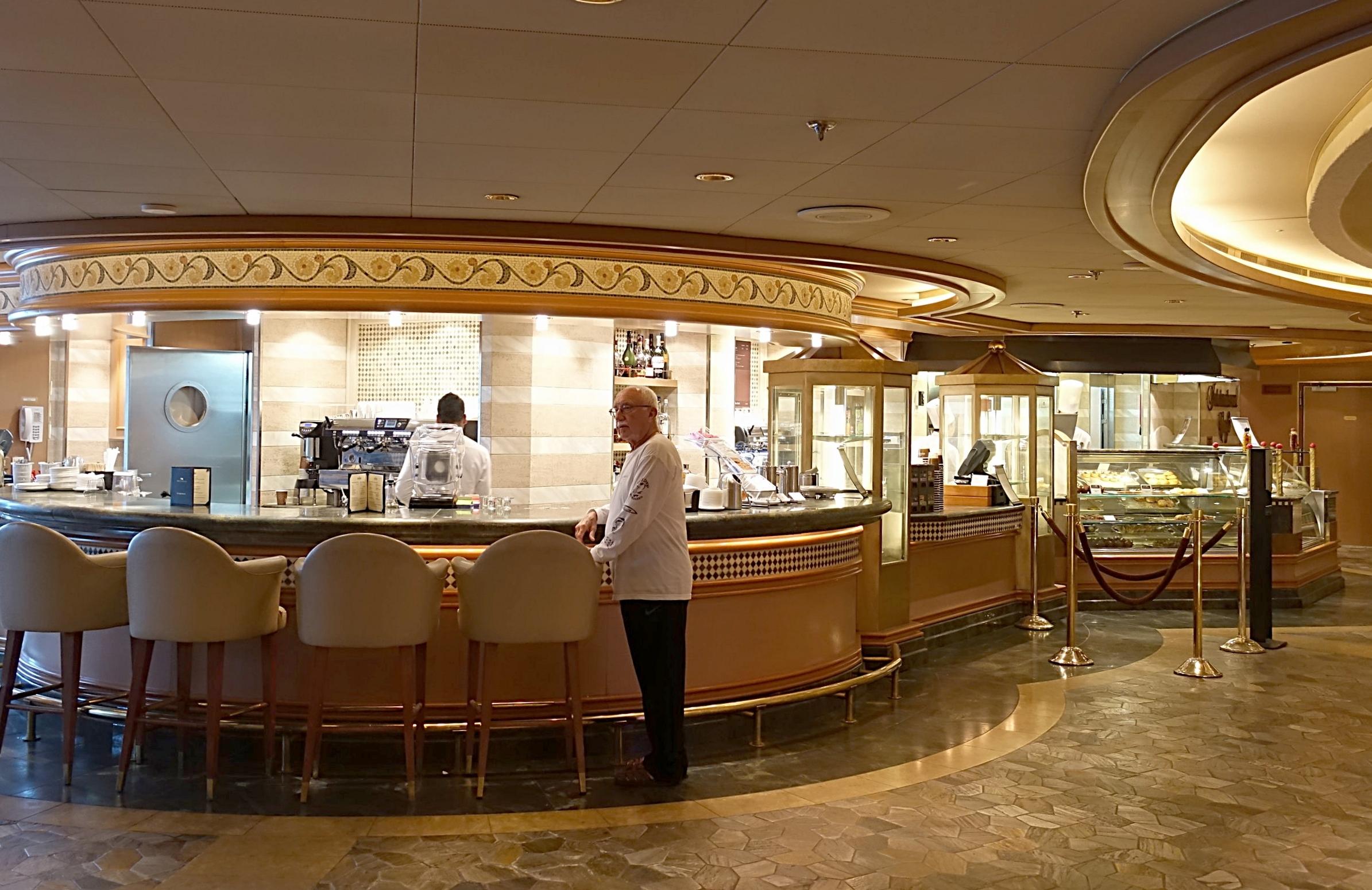 The International Cafe coffee bar.