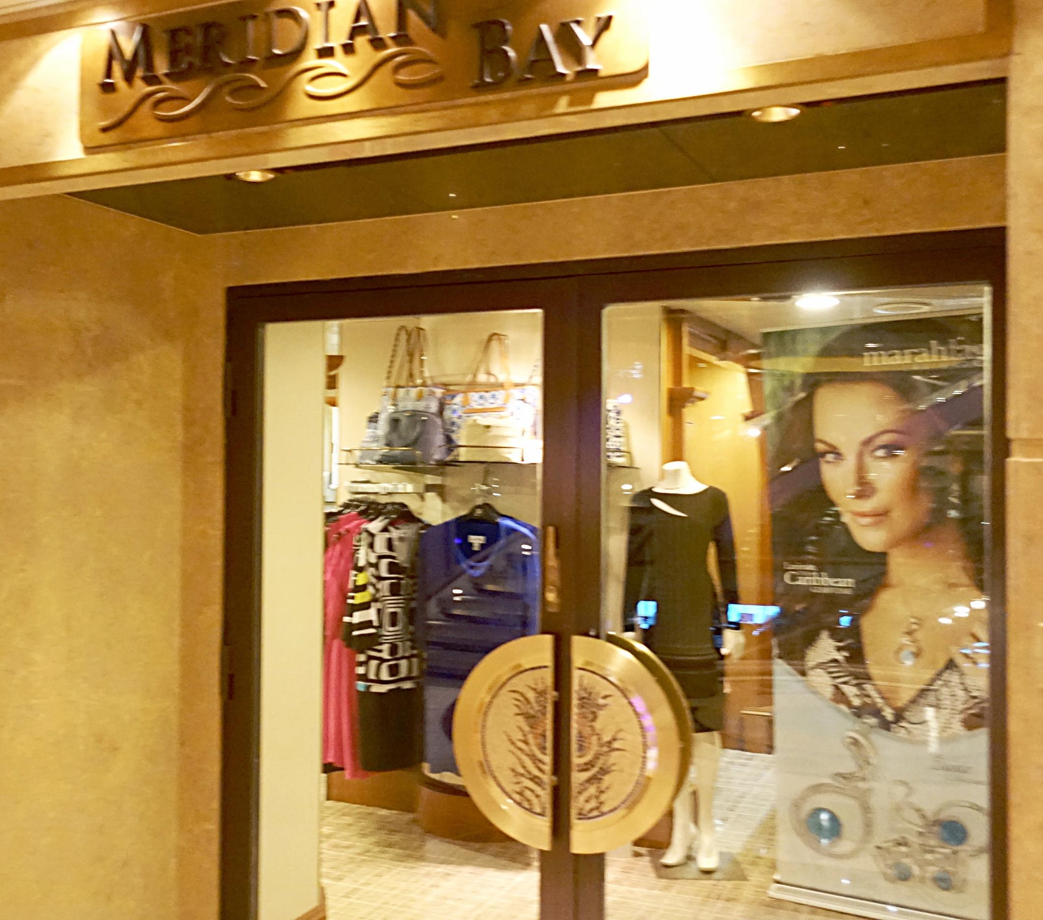 Meridian Bay shop.
