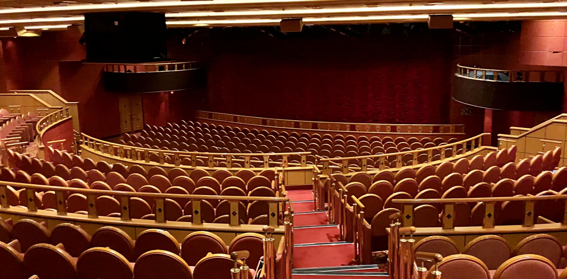 The Crown Princess theatre.