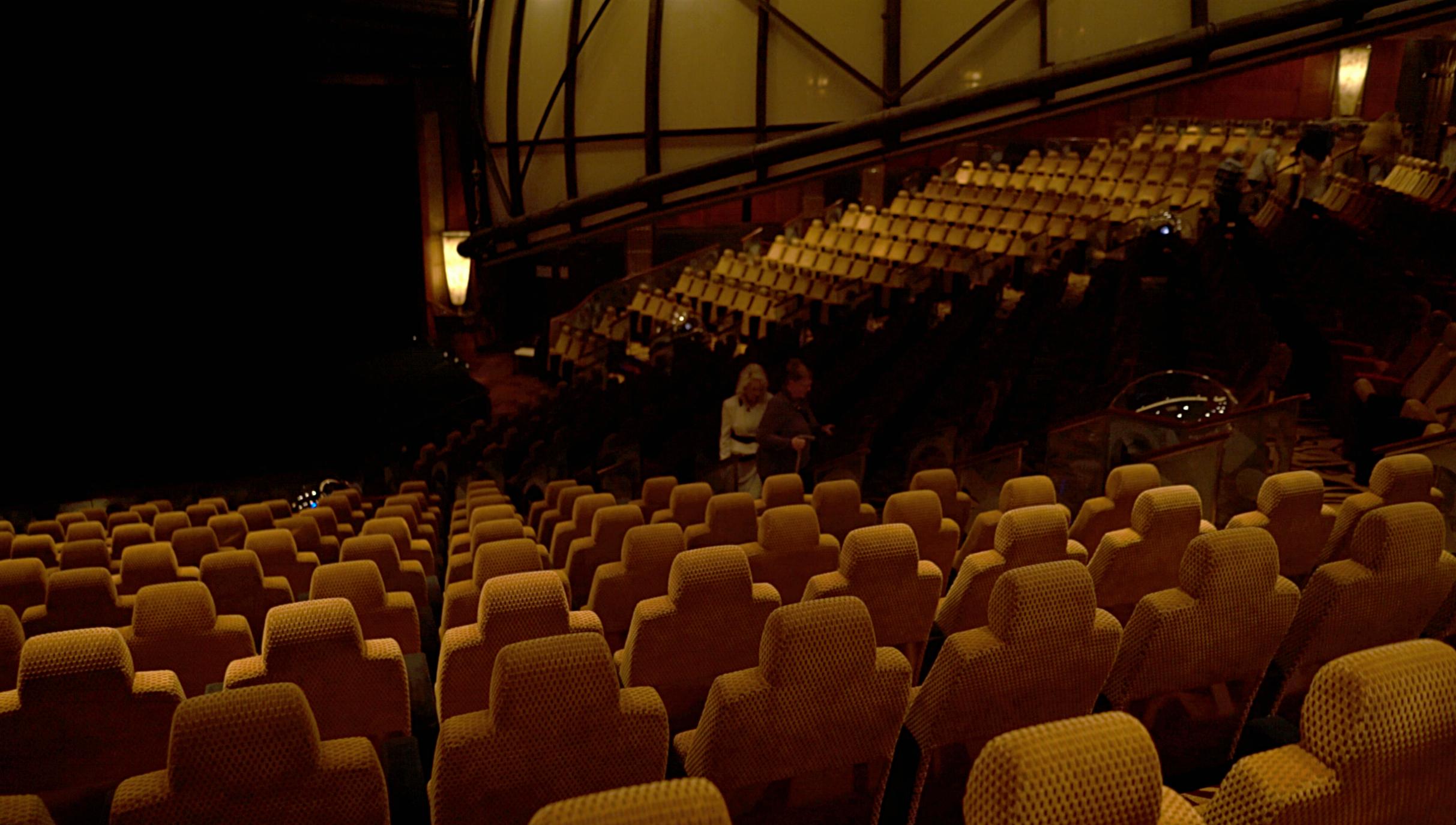 Theatre seating & Planetarium.