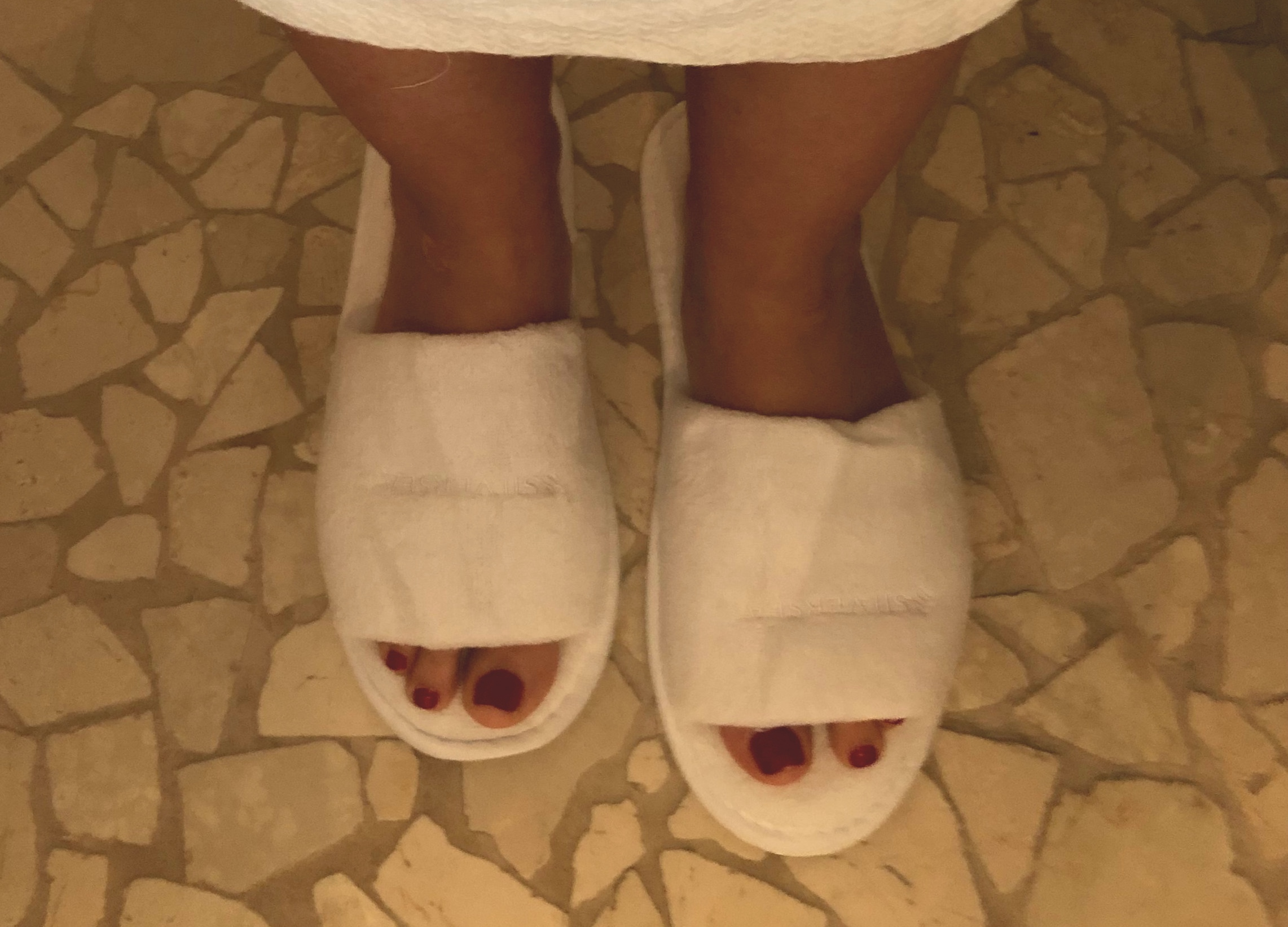 These spa slippers were the softest slippers I have ever worn.