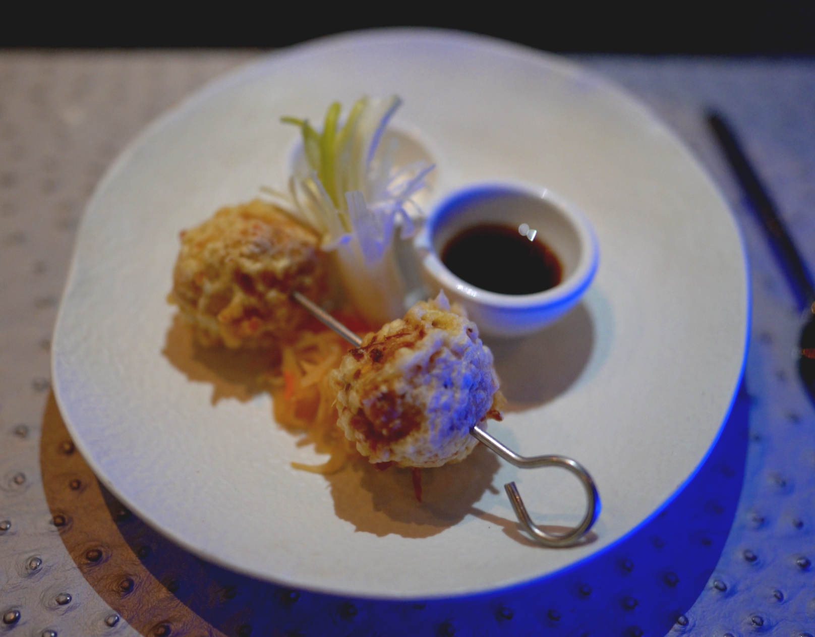 Mouth watering delicious King Crab Tempura.