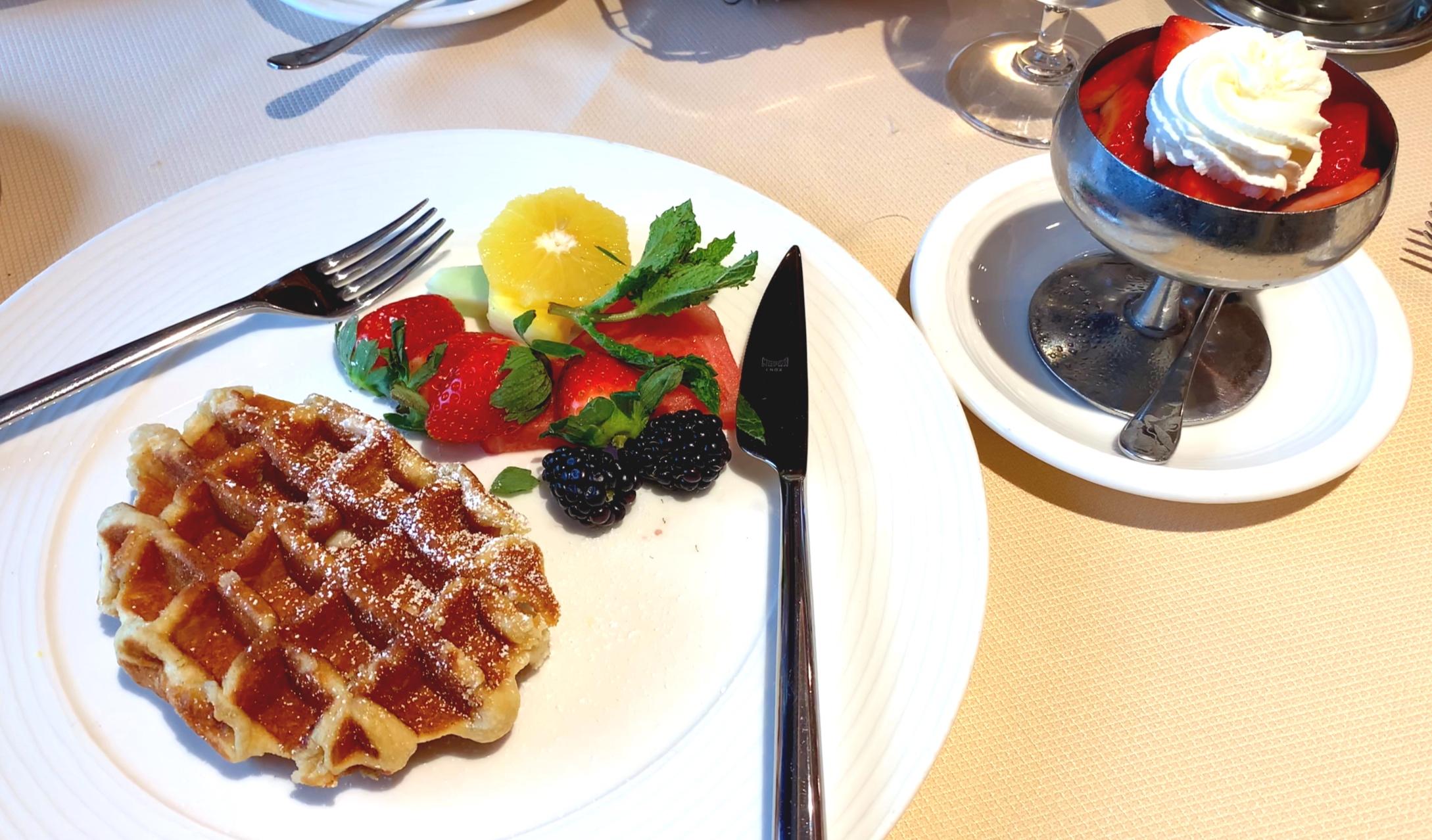 Those waffles!