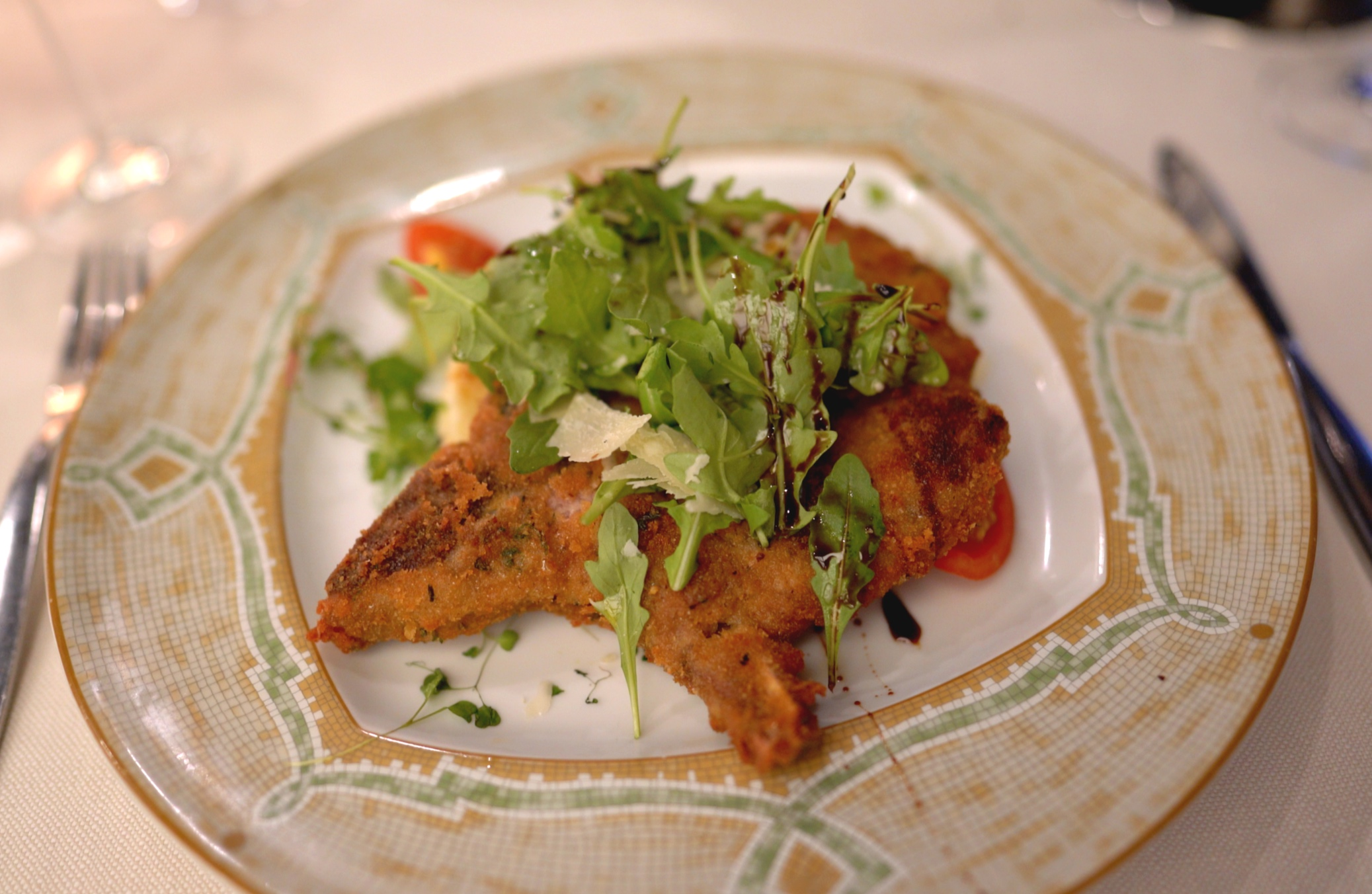 Veal Milanese.