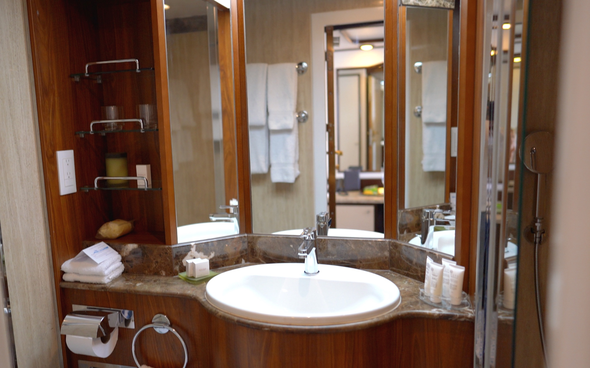 Our beautifully appointed bathroom.