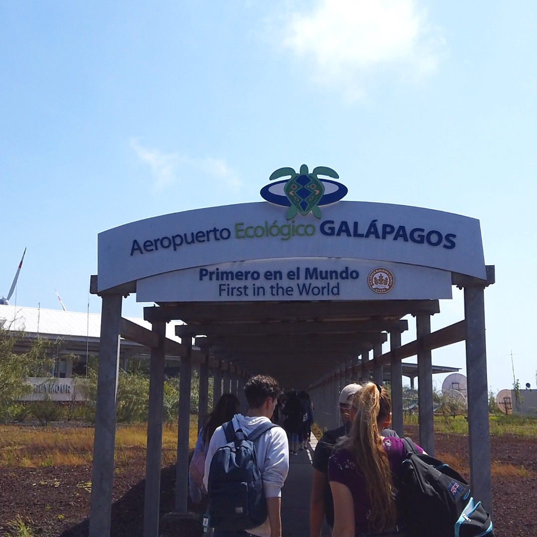 Welcome to the Galapagos.