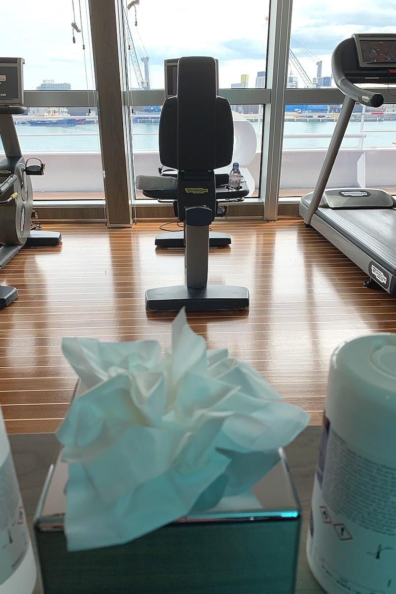 Gym views.