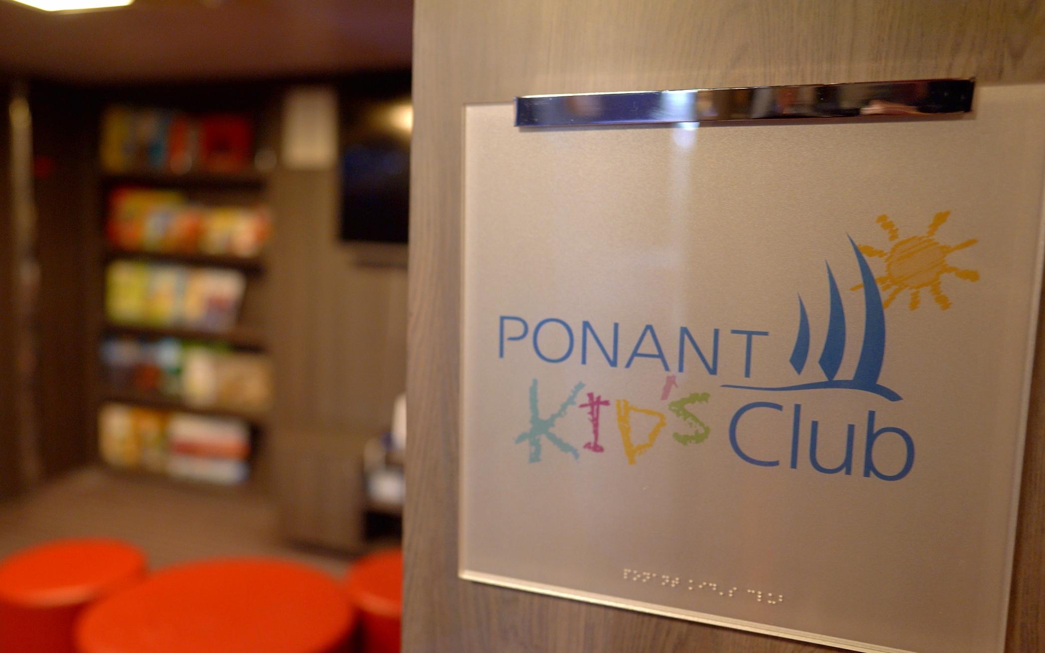 Ponant kids club.