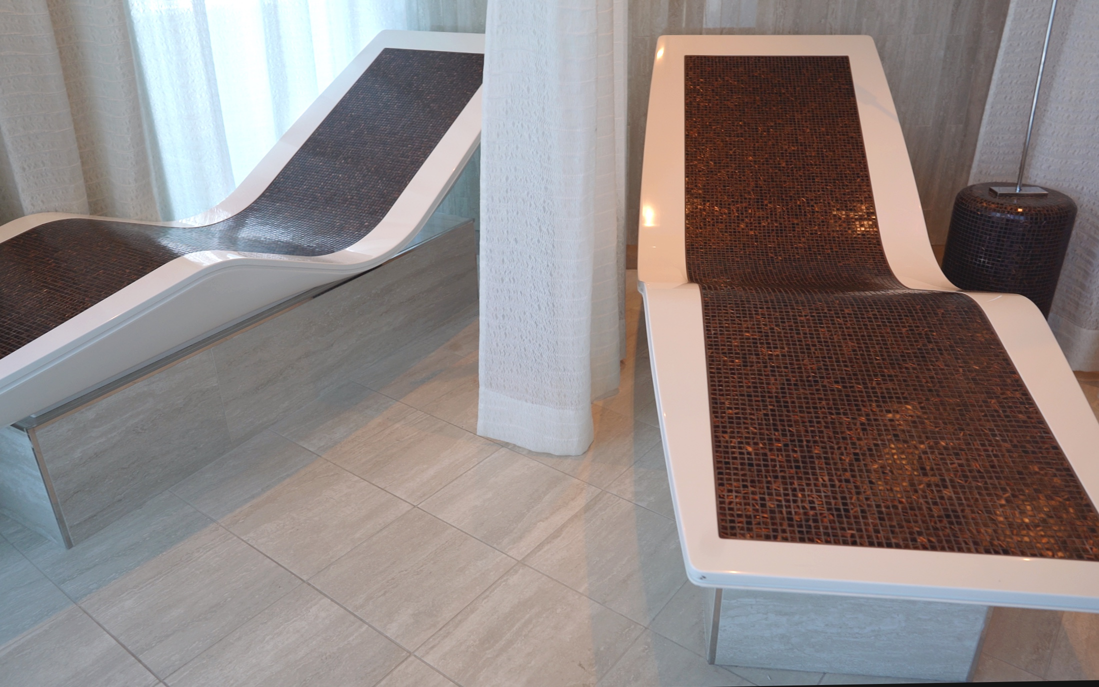 The Spa hot stone beds