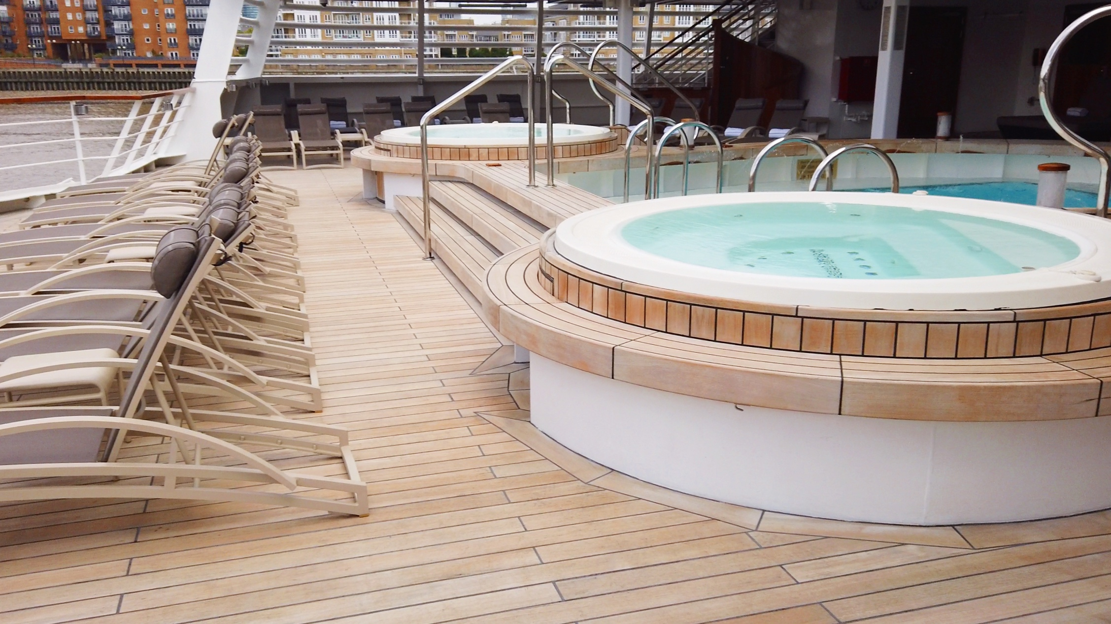 Deck 5 aft pool deck.