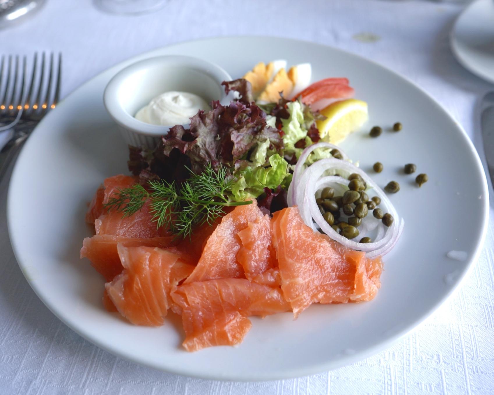 Salmon 'starter'