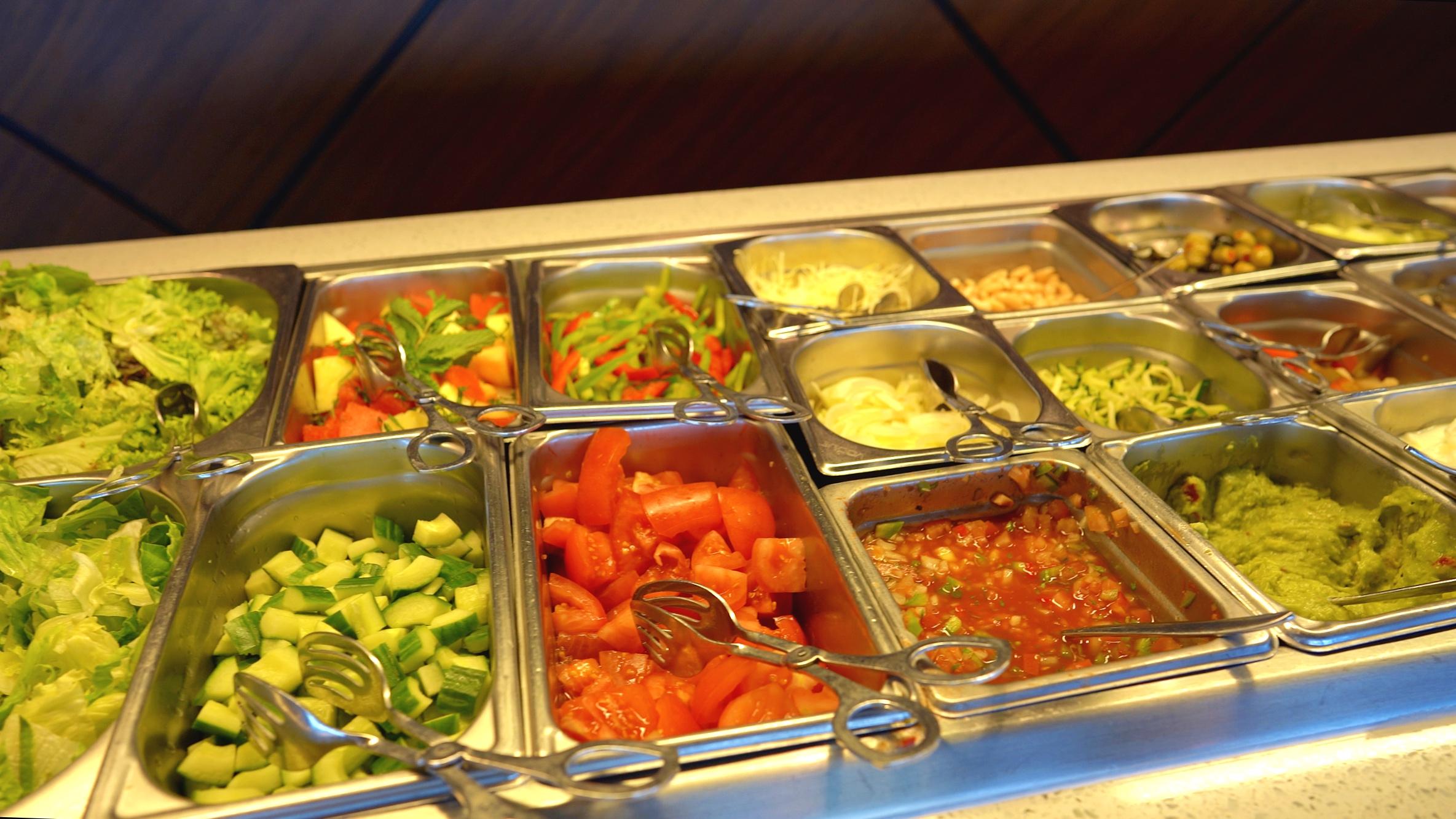 The Patio salad bar
