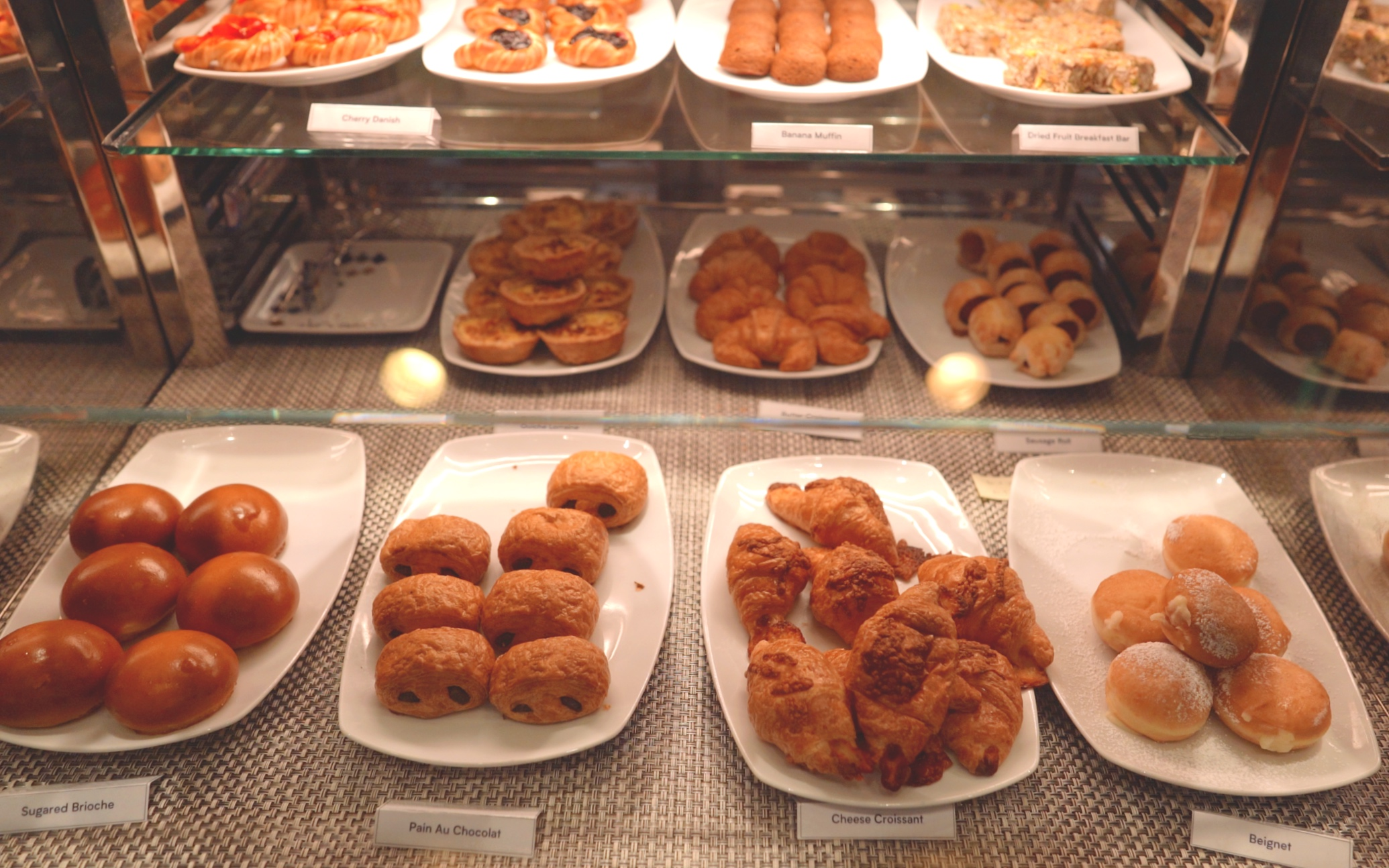 Breakfast delights at the mosaic cafe
