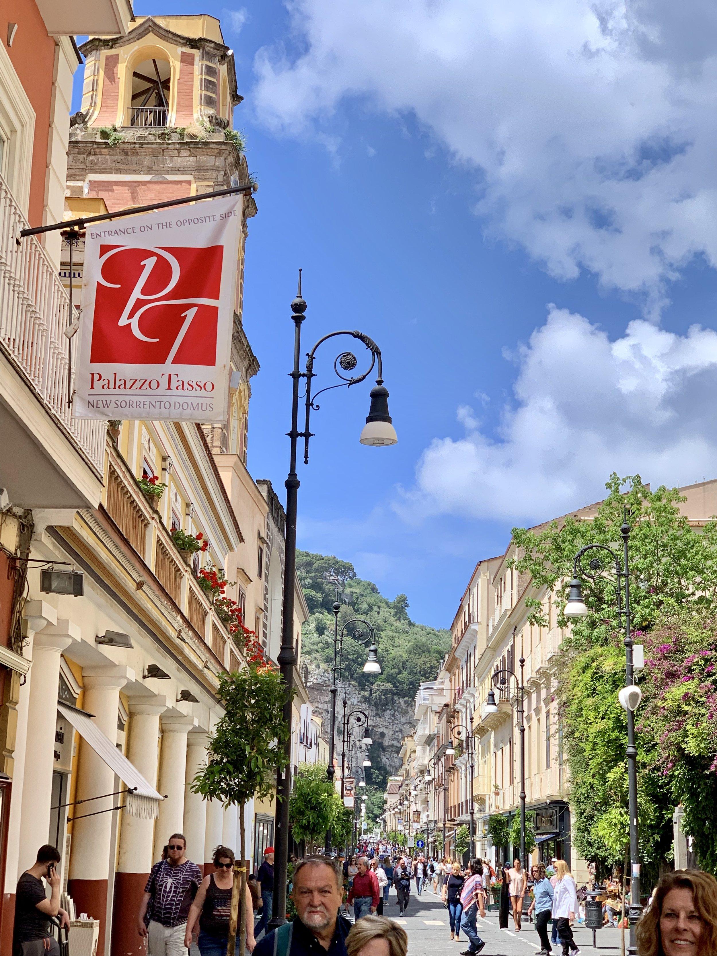 Sorrento high street