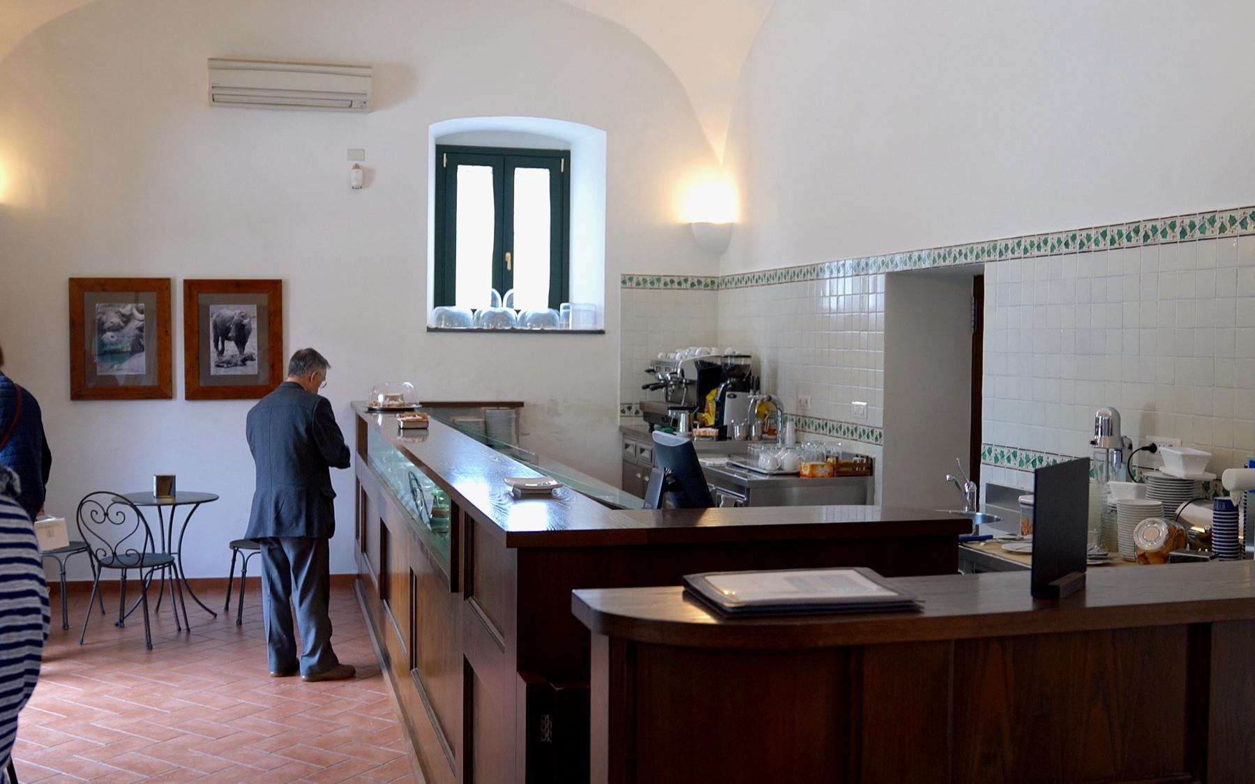 The mozzarella factory cafe.