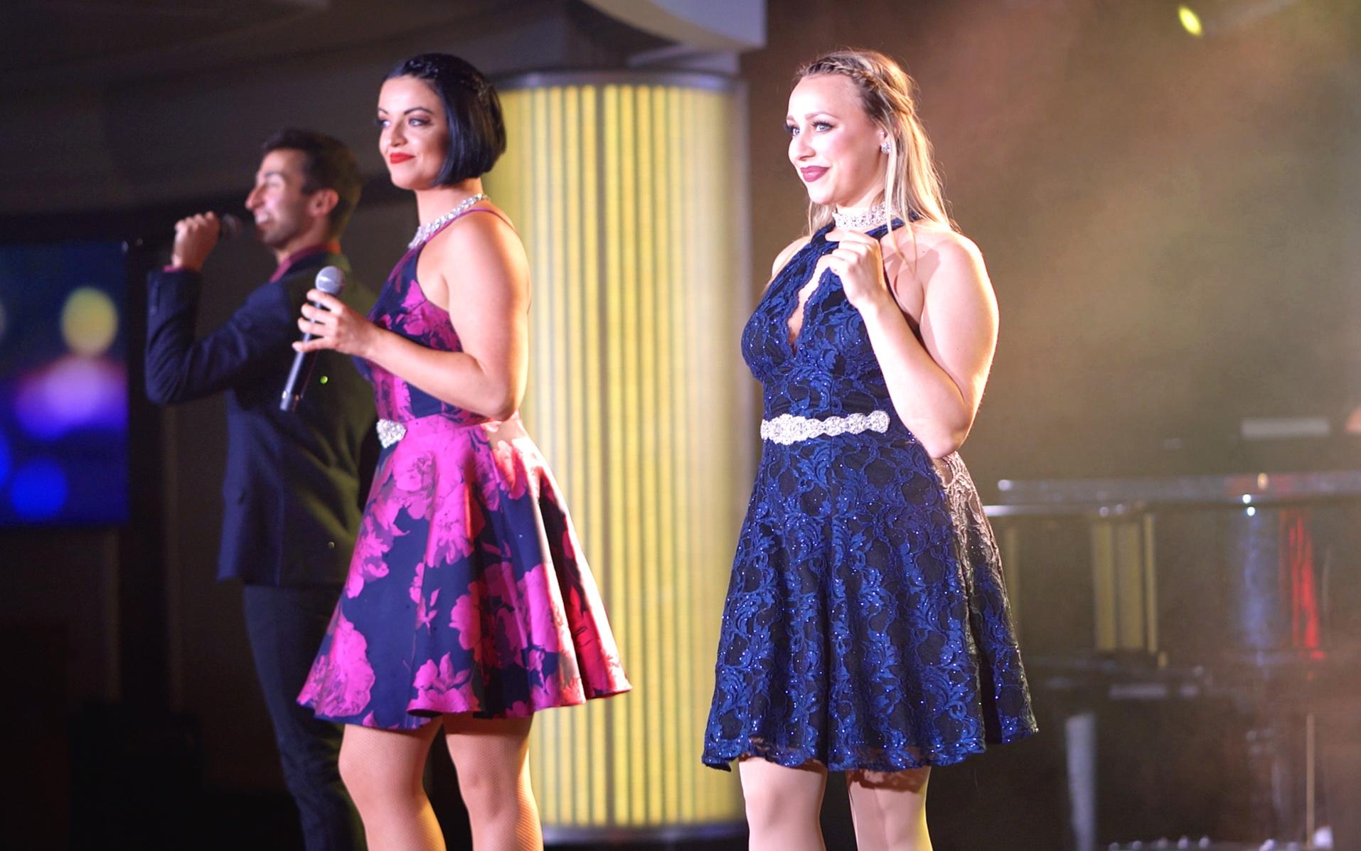 Azamara Signature singers.
