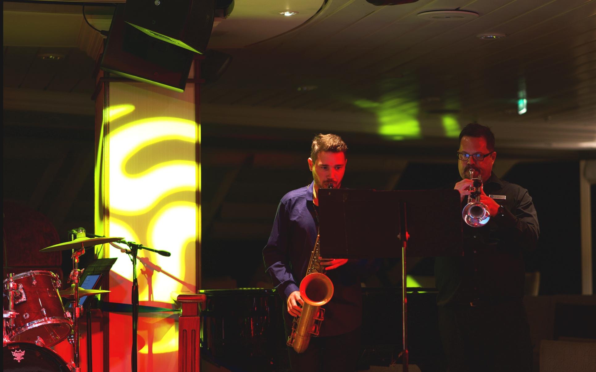 Jazz and funk night.