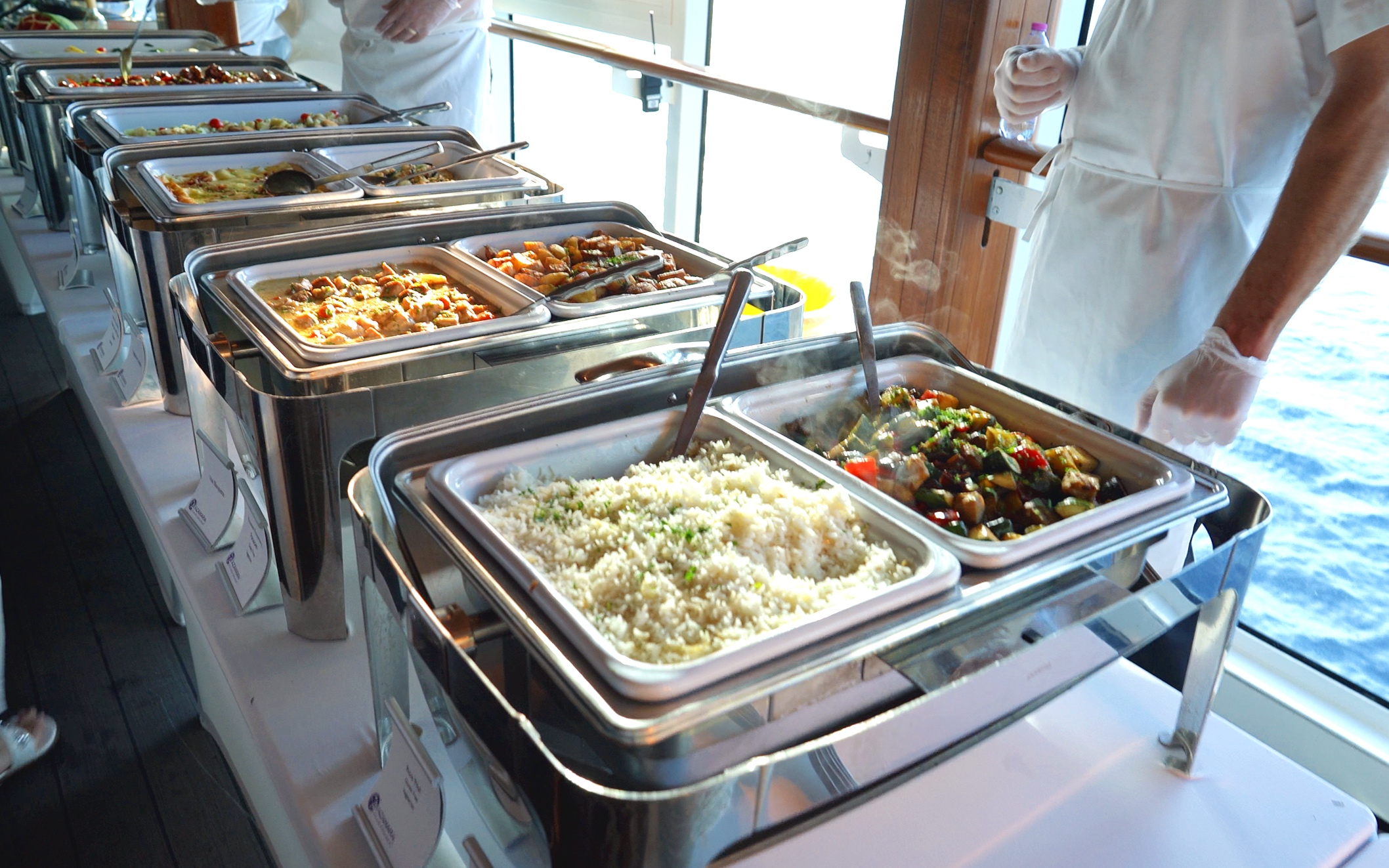 White Night Party food.