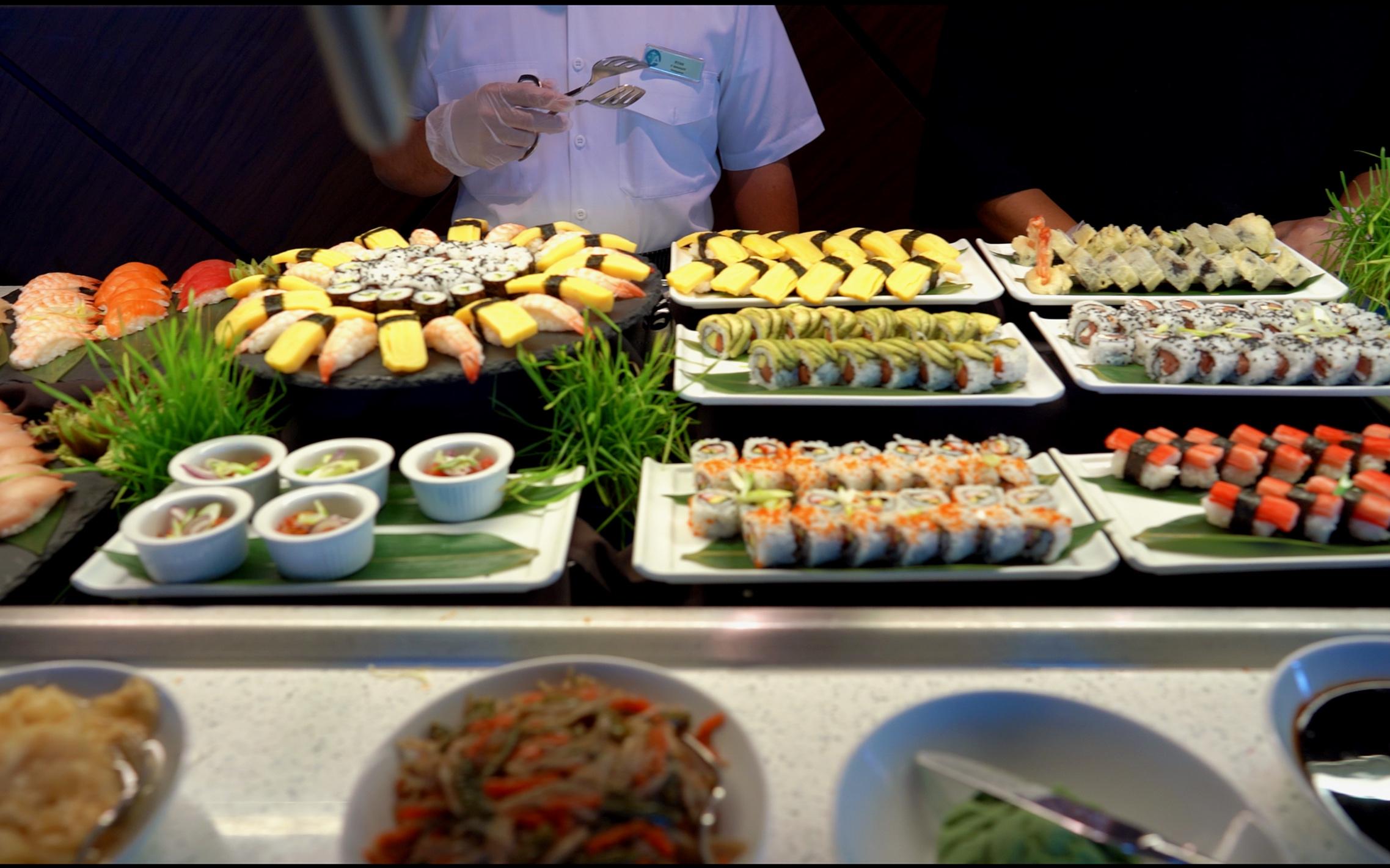 White Night sushi.