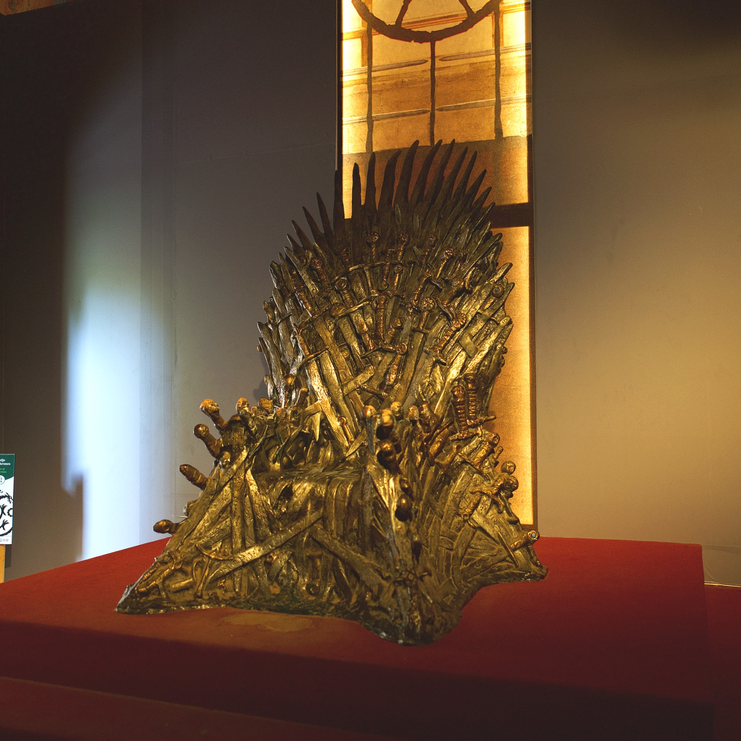 As fans of Game of Thrones we couldn't resist seeing the Iron Throne.