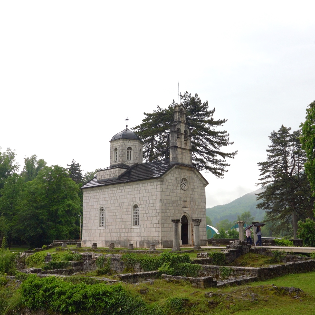 Cetinje church.