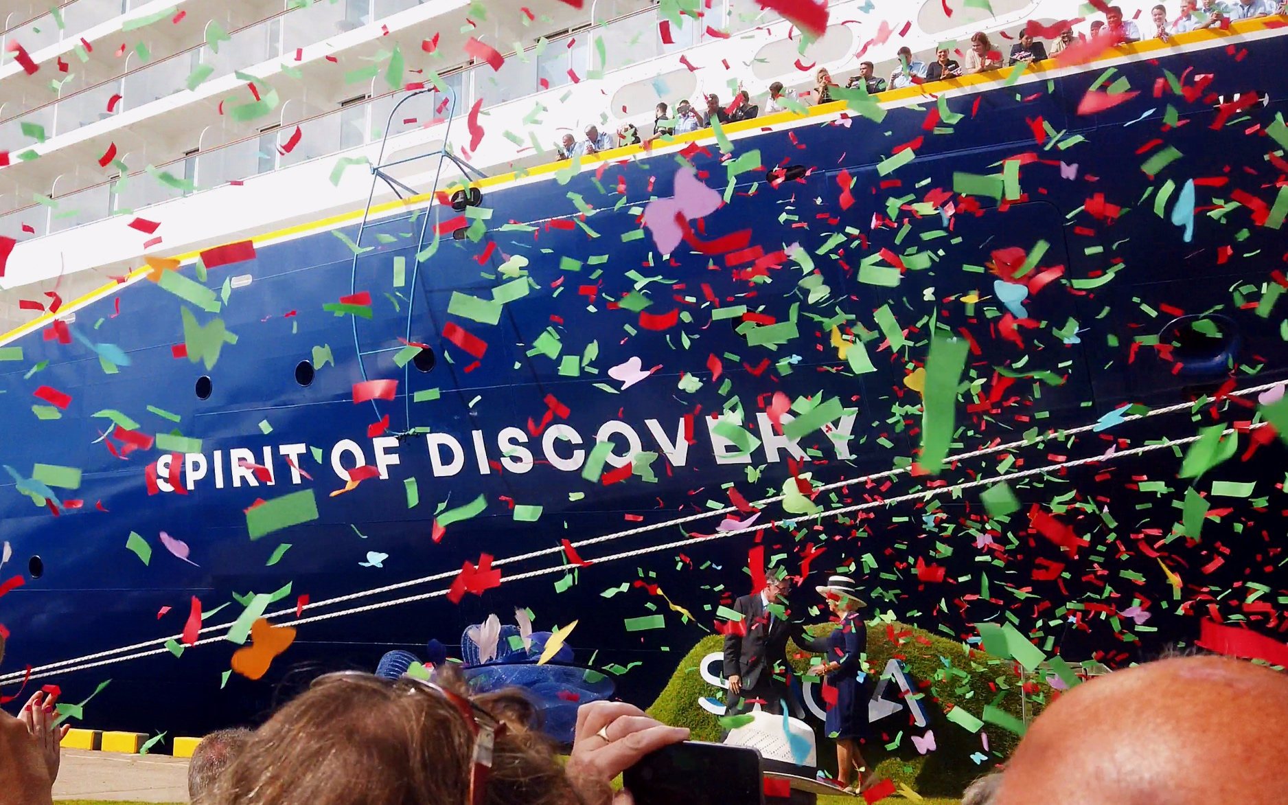 Spirit of Discovery Naming Ceremony