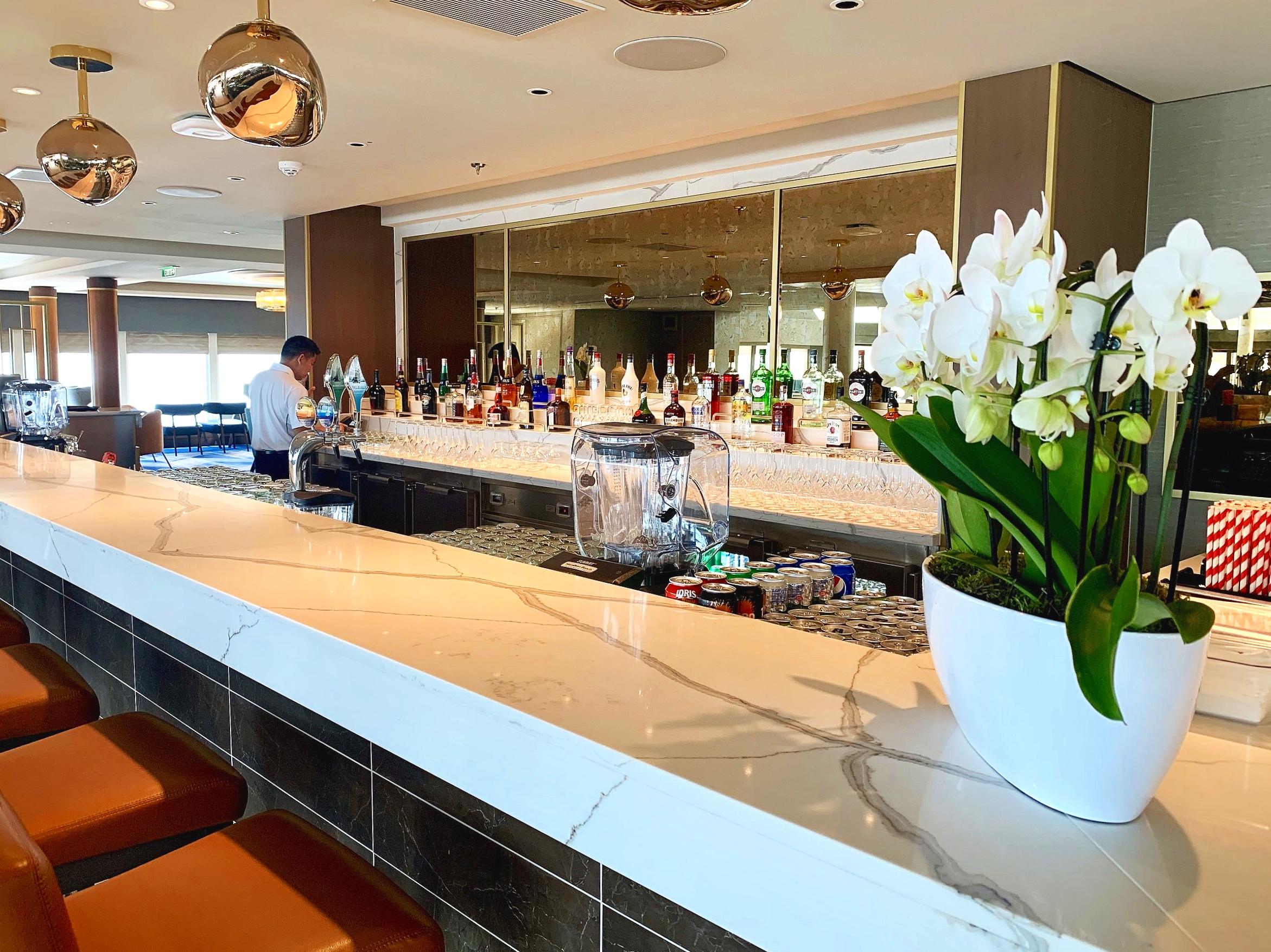 The Britannia Lounge bar.