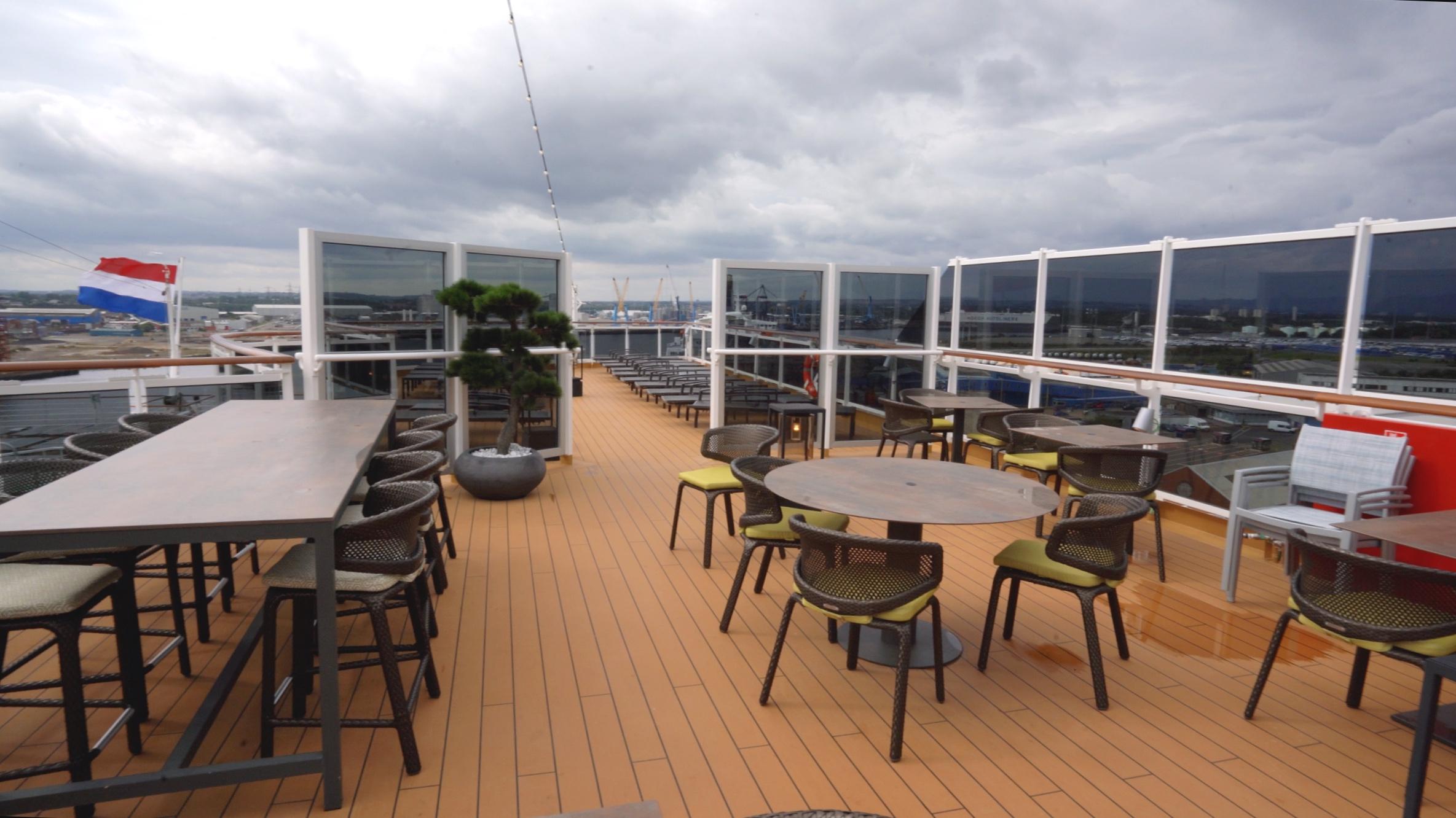Tamarind outdoor seating area