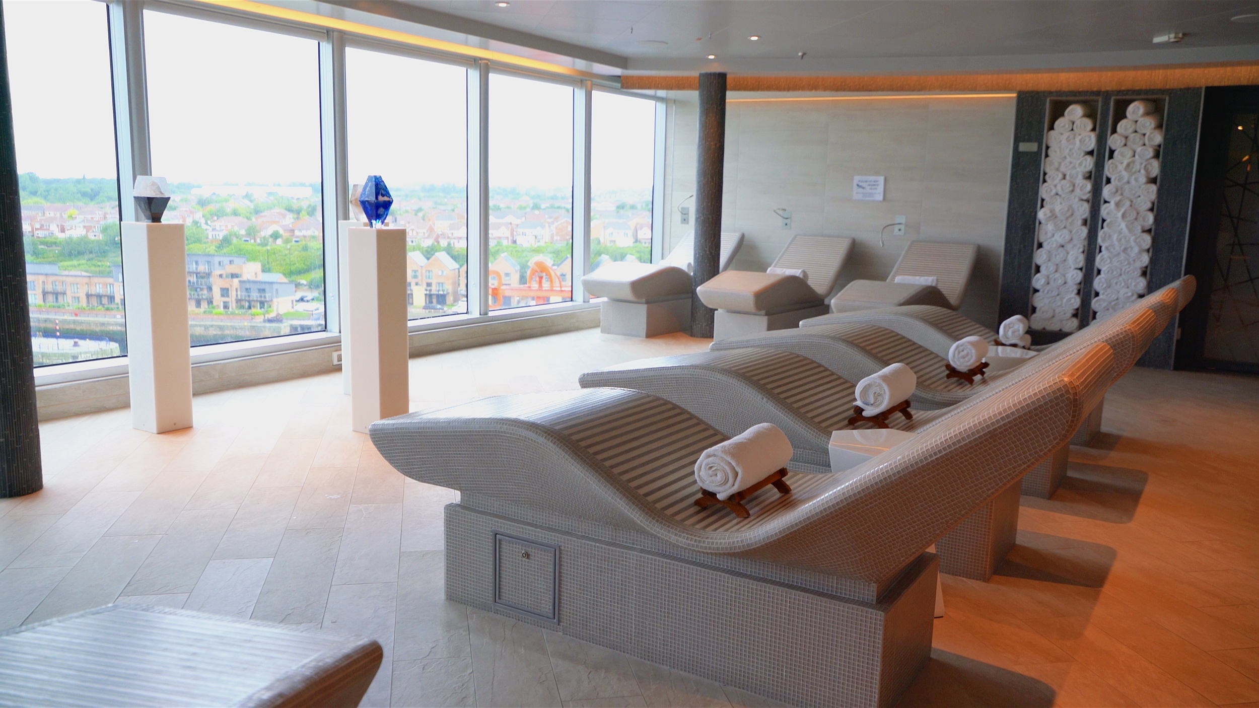 The Greenhouse spa hot stone beds