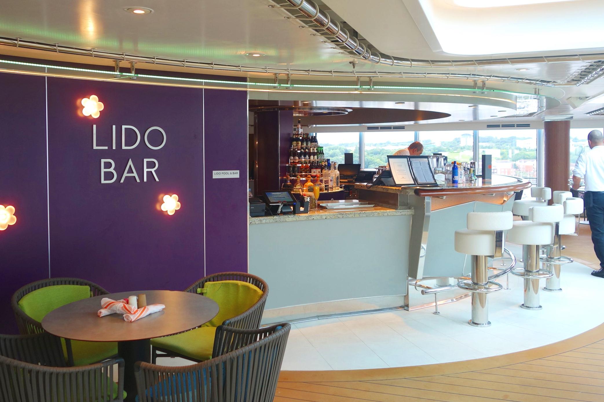 The Lido bar