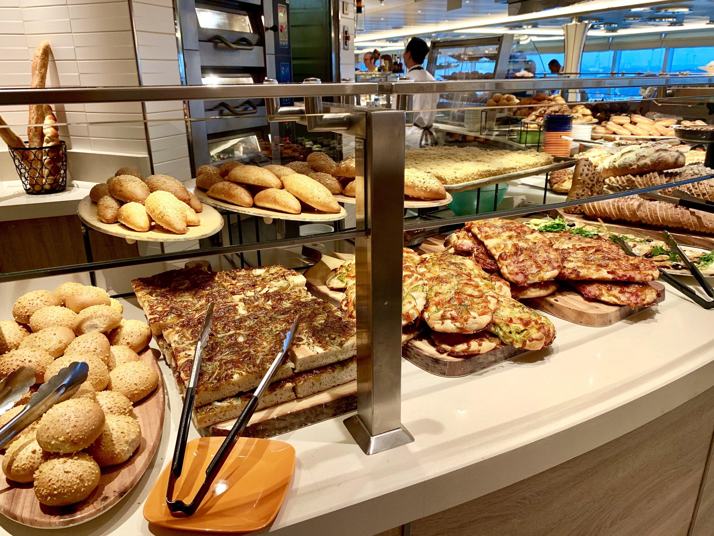 Amazing fresh bakery produce