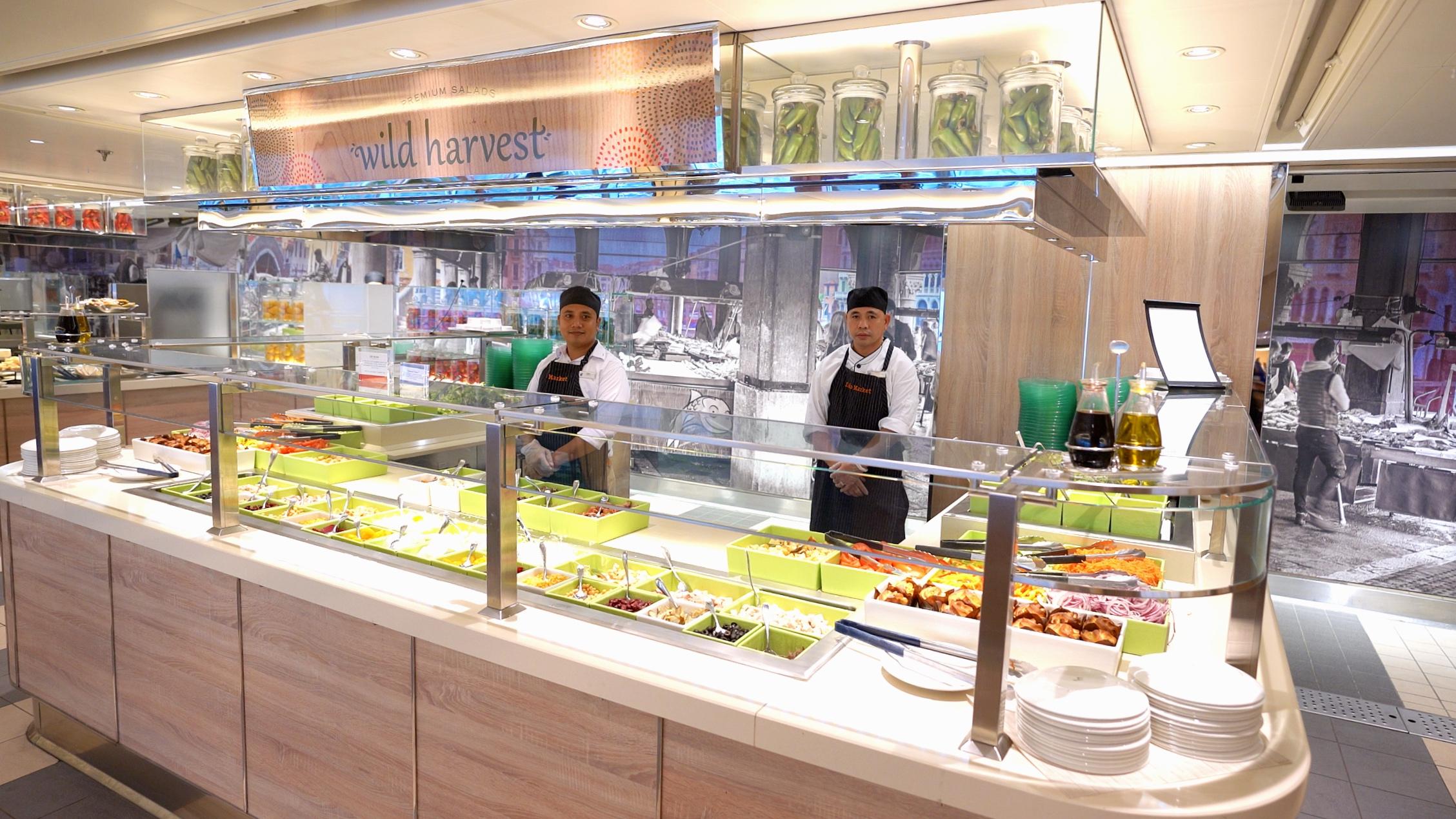 The Lido salad bar
