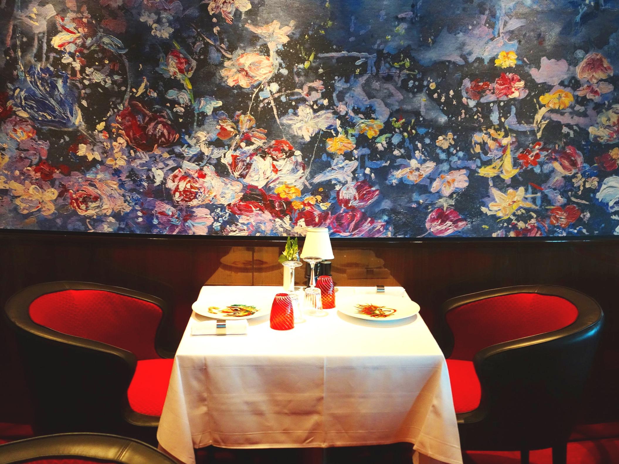 Romantic dinner at Rudi's - perfect.