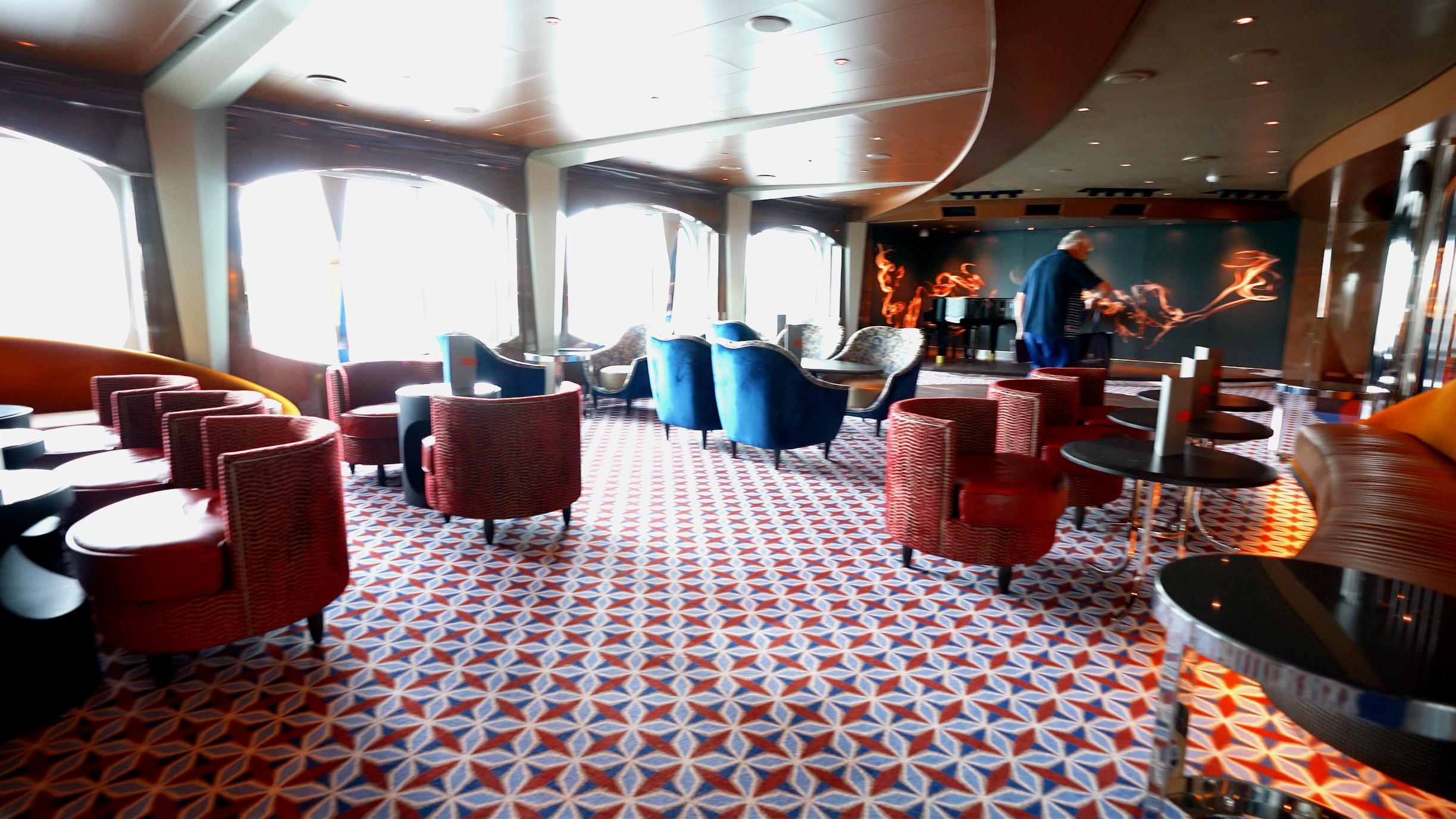 Ocean bar seating