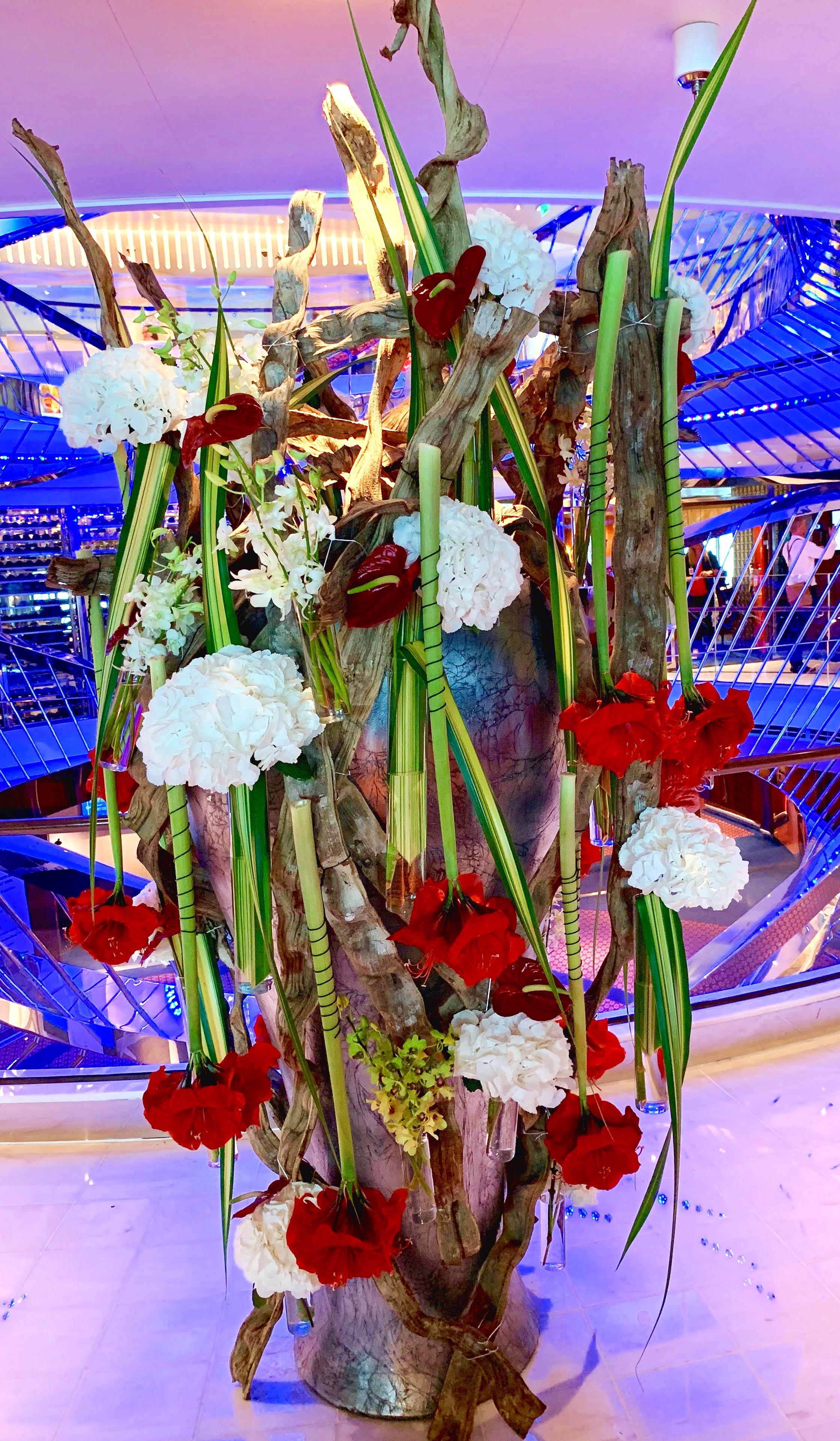 Atrium flowers