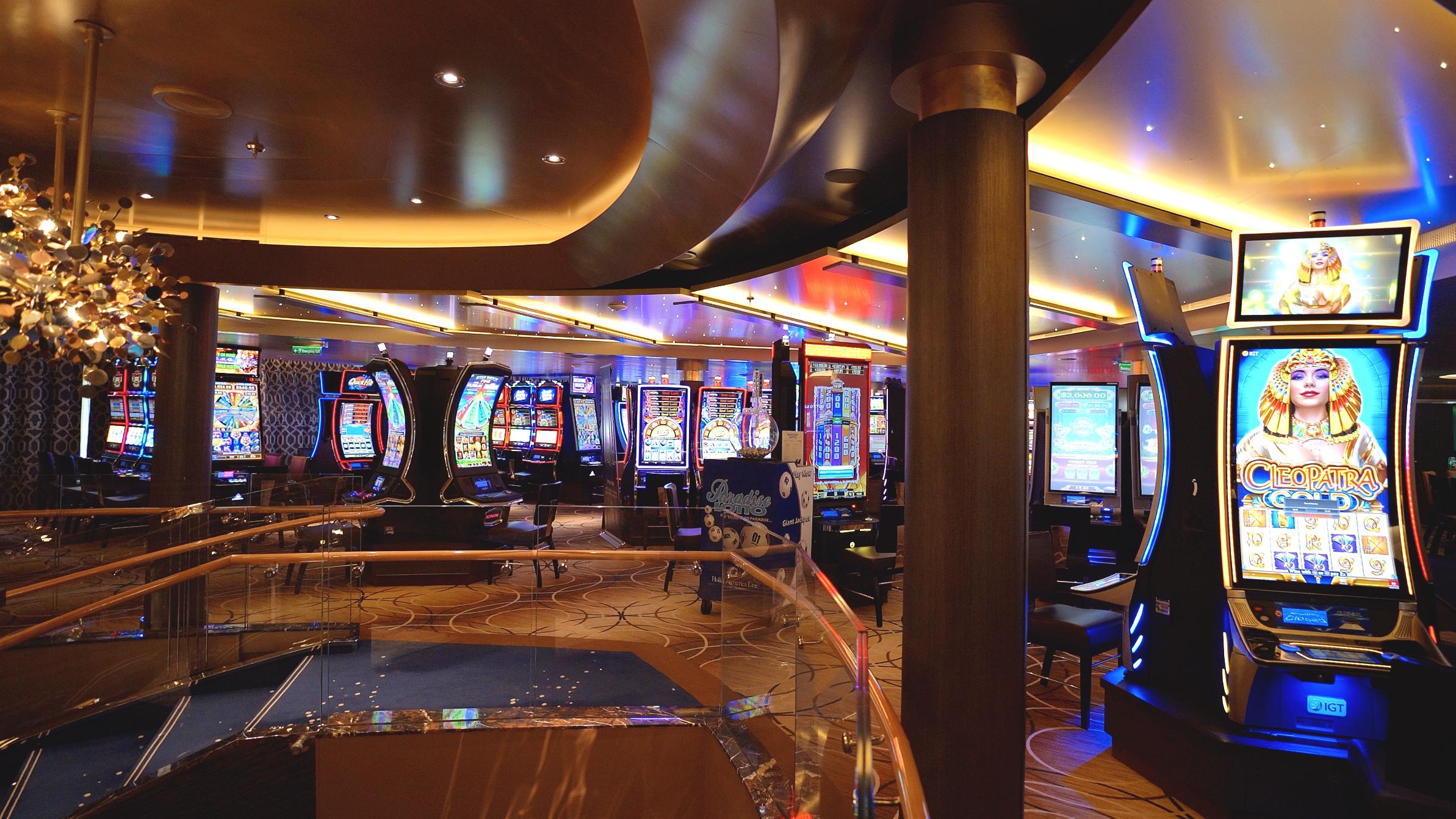 Plenty of slot machines