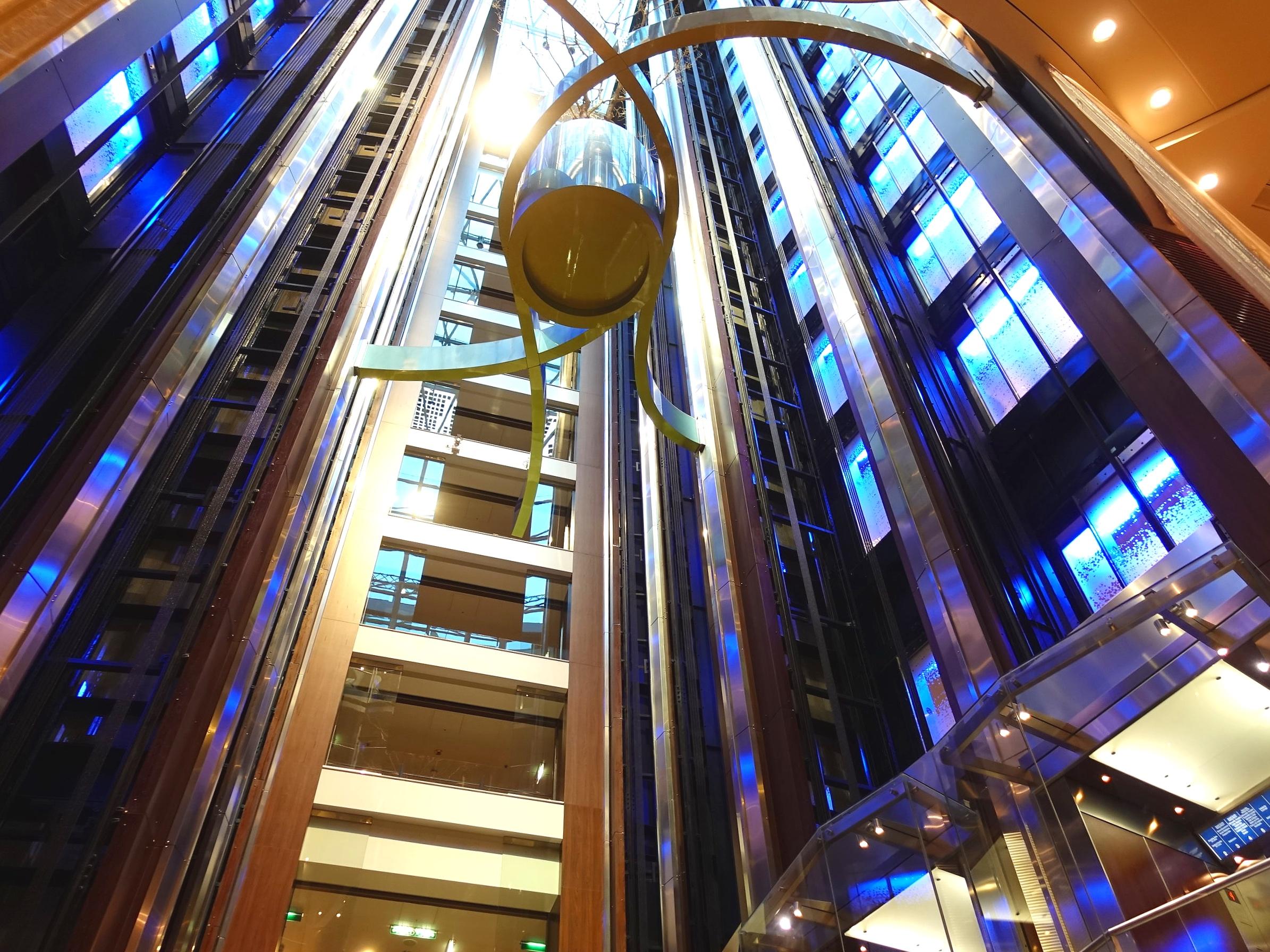 Atrium lifts